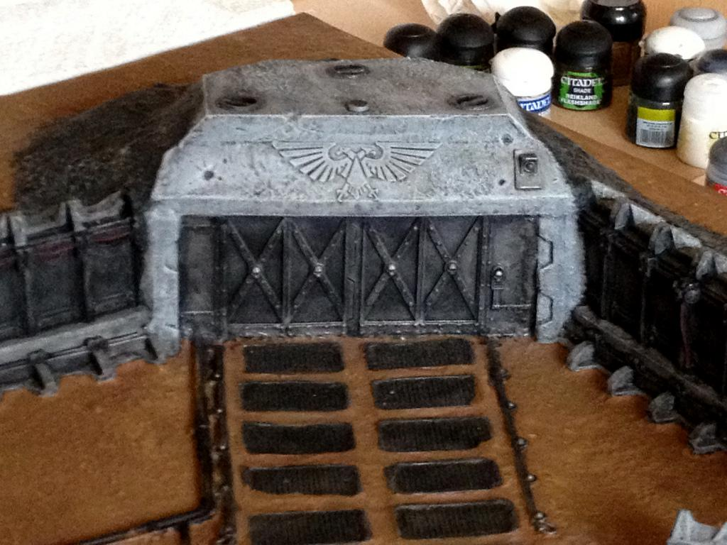 Display Board, Terrain, Warhammer 40,000, Work In Progress