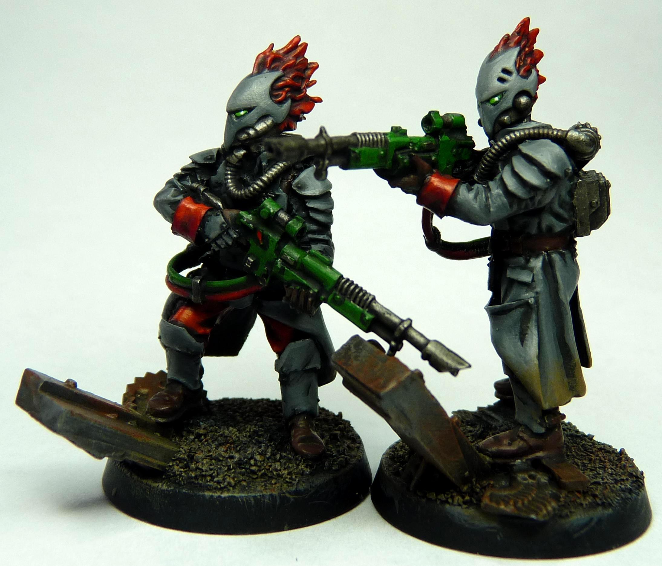 Conversion, Eldar, Imperial Guard, Snipers, Valhallans