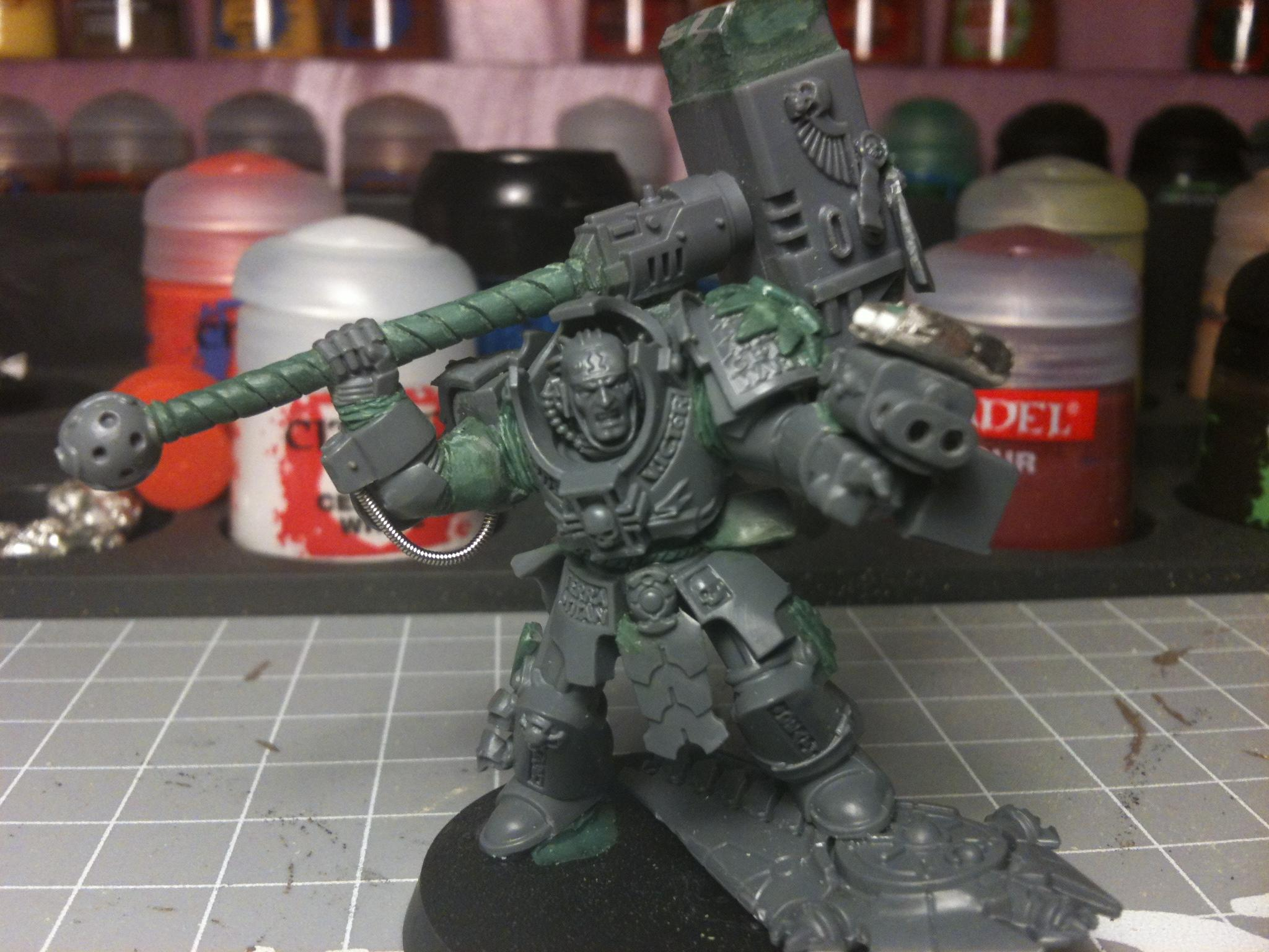 Aurora, Chapter Master, Conversion, Space Marines