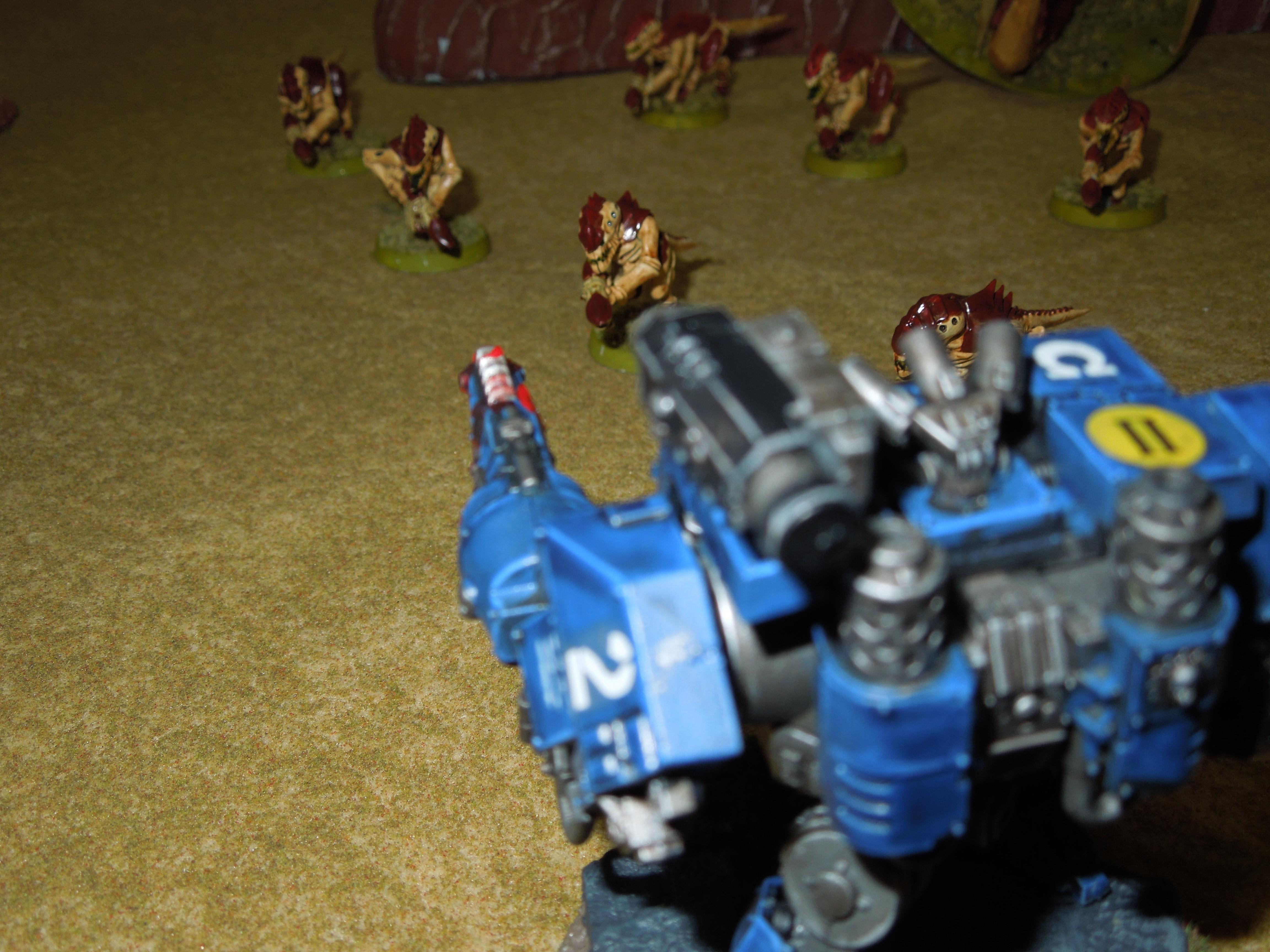 Battle Report, Space Marines, Tyranids