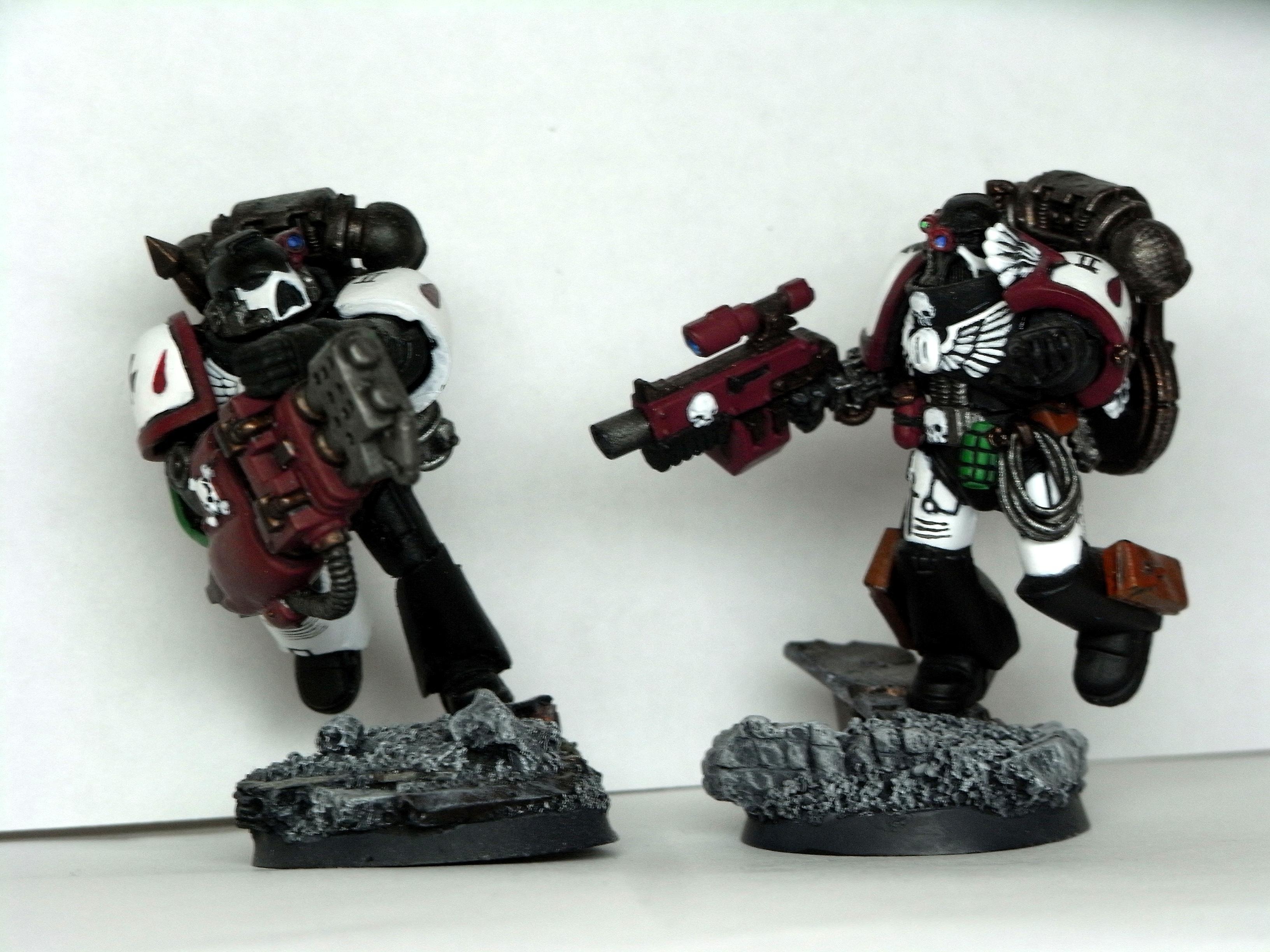 Black, Space Marines