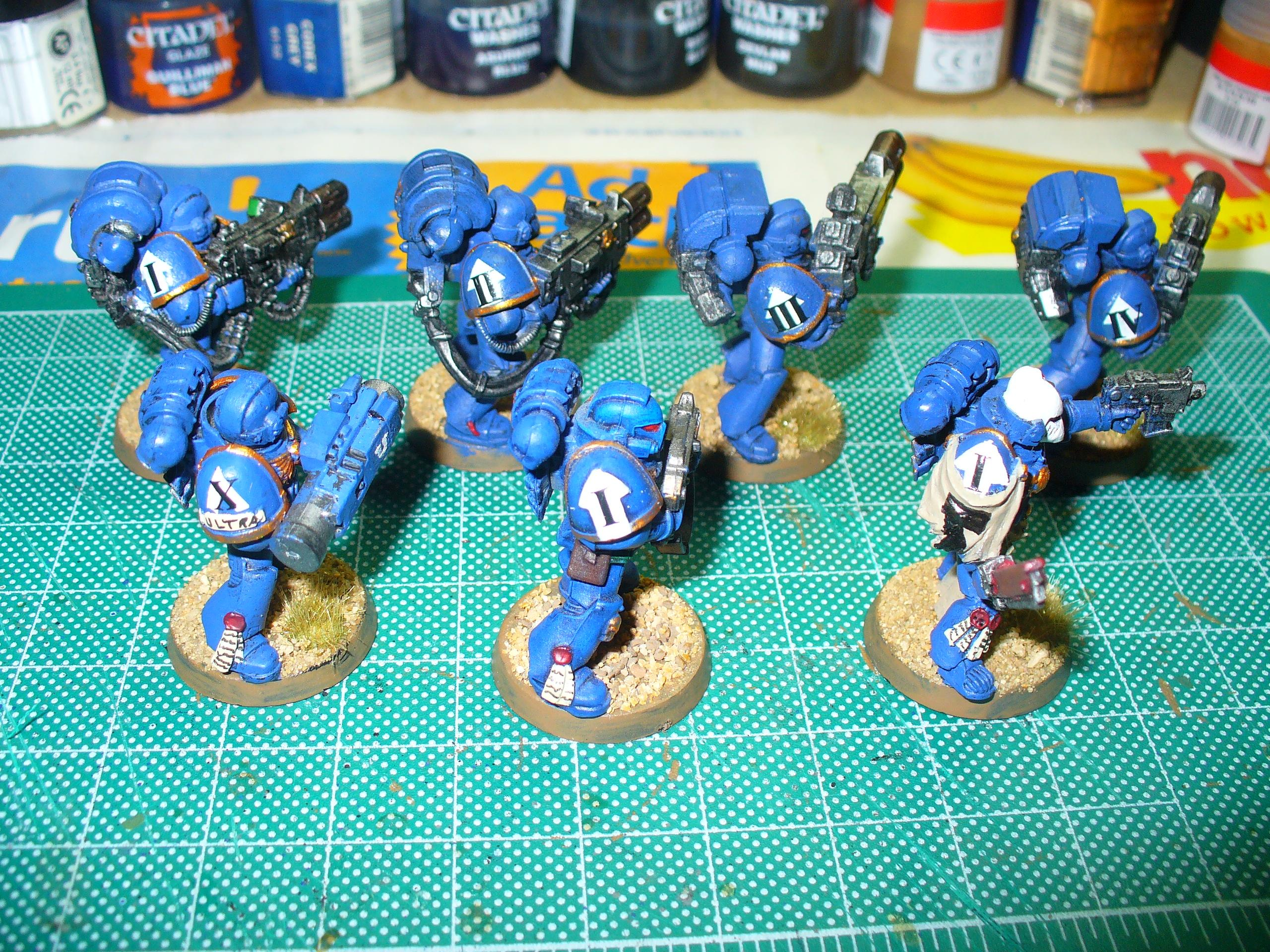 Decal, Freehand, Space Marines, Ultramarines, Warhammer 40,000