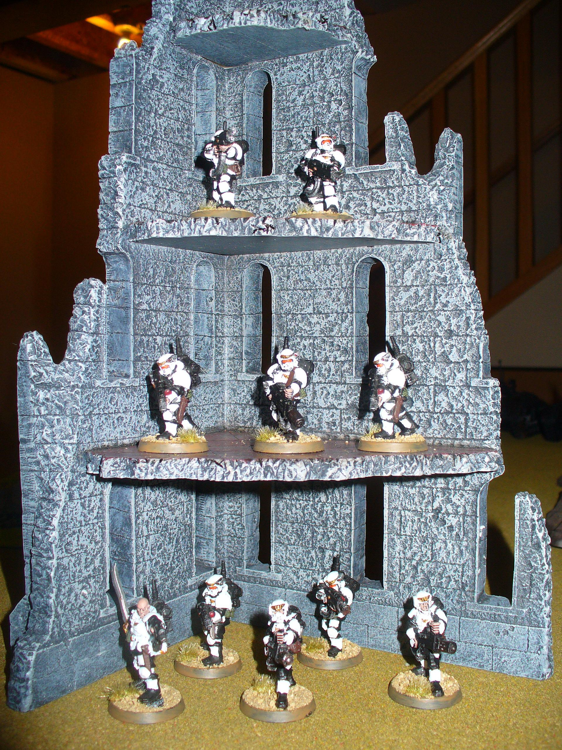 And like every good Guardsmen, they know the importance of cover!