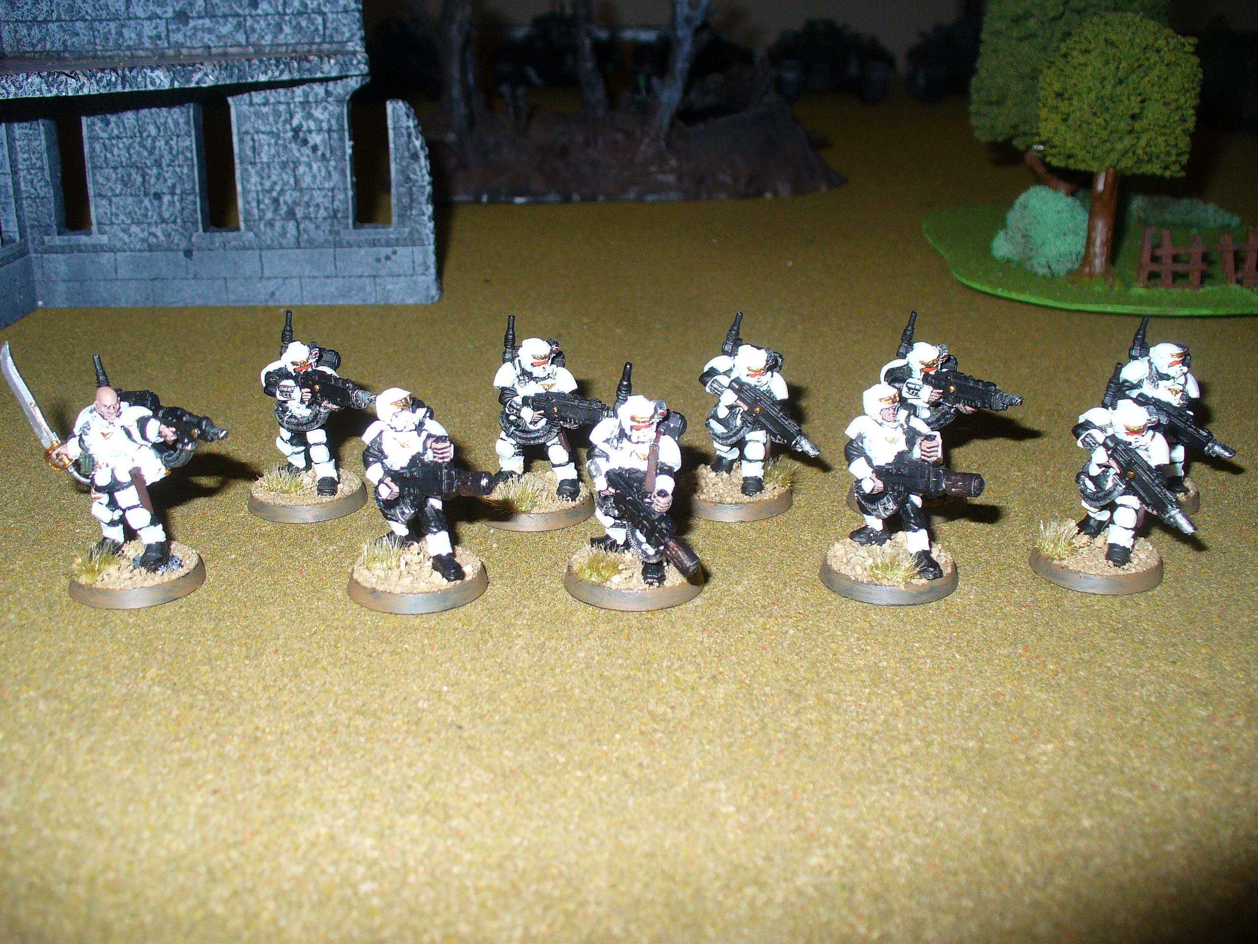Games Workshop, Imperial Guard, Kasrkin, Storm Troopers, Warhammer 40,000
