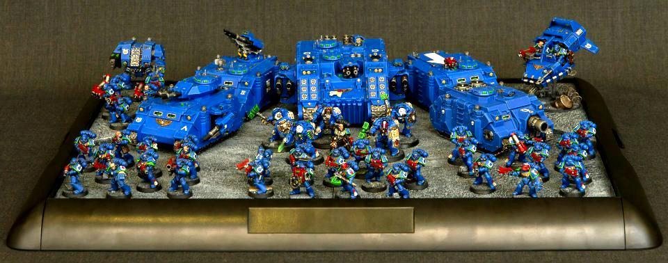 40k Atc, Army, Space Marines, Tank, Ultramarines, Warhammer 40,000