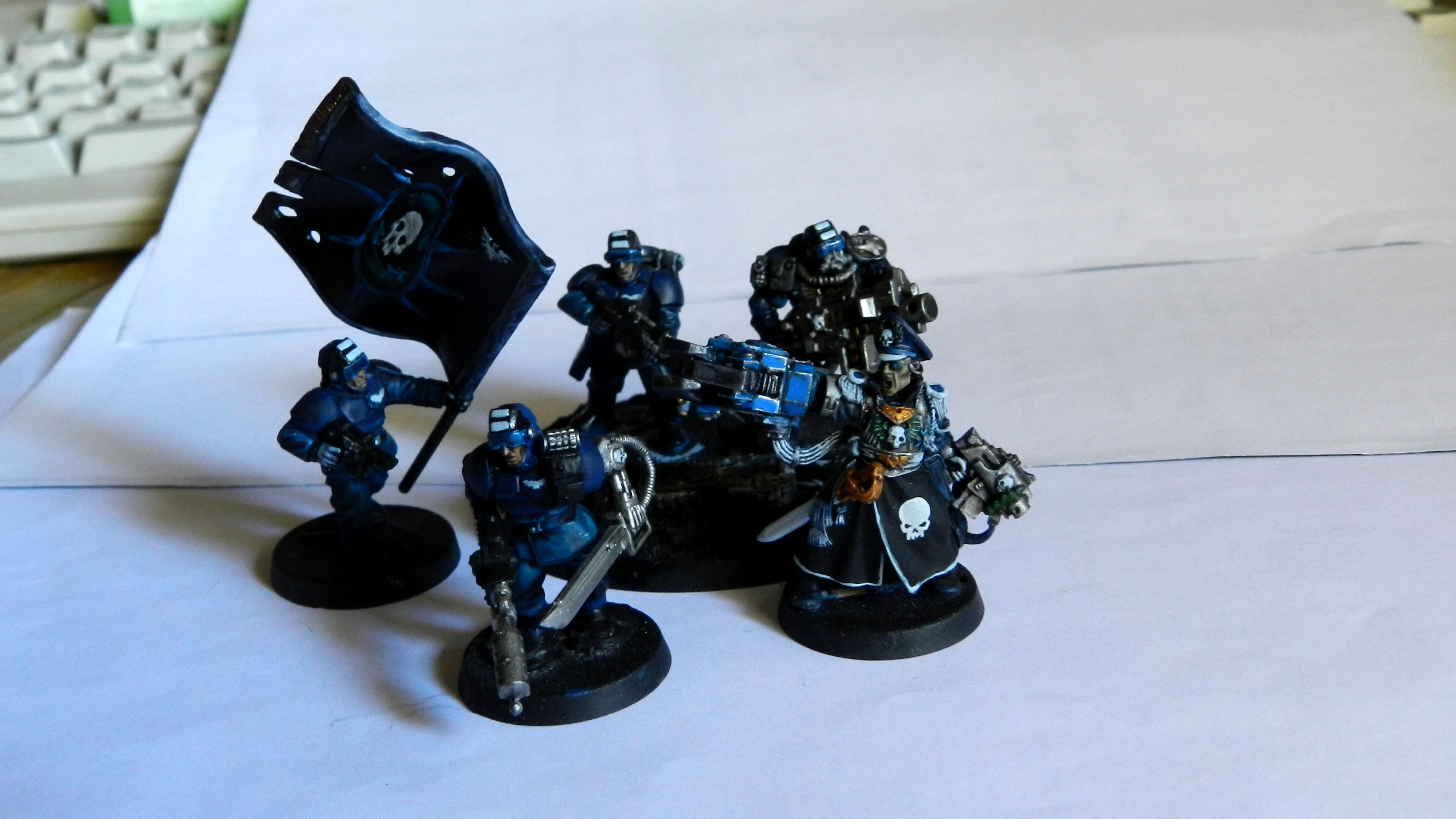 Adeptus Arbites, Cadians, Ccs, Command Squad, Commander, Commissar, Commissar Yarrick, Company Command Squad, Conversion, Count As, Elysian, Elysians, Gears Of War, Grenadier, Grenadiers, Guardsmen, Imperial Guard, Junior Officer, Officer, Power Fist, Power Klaw, Warhammer 40,000, Work In Progress, Yarrick
