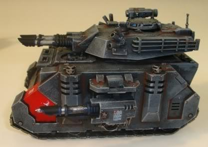 Apocalypse, Conversion, Predator, Predator Assassin Squadron, Space Marines, Space Sharks, Tank