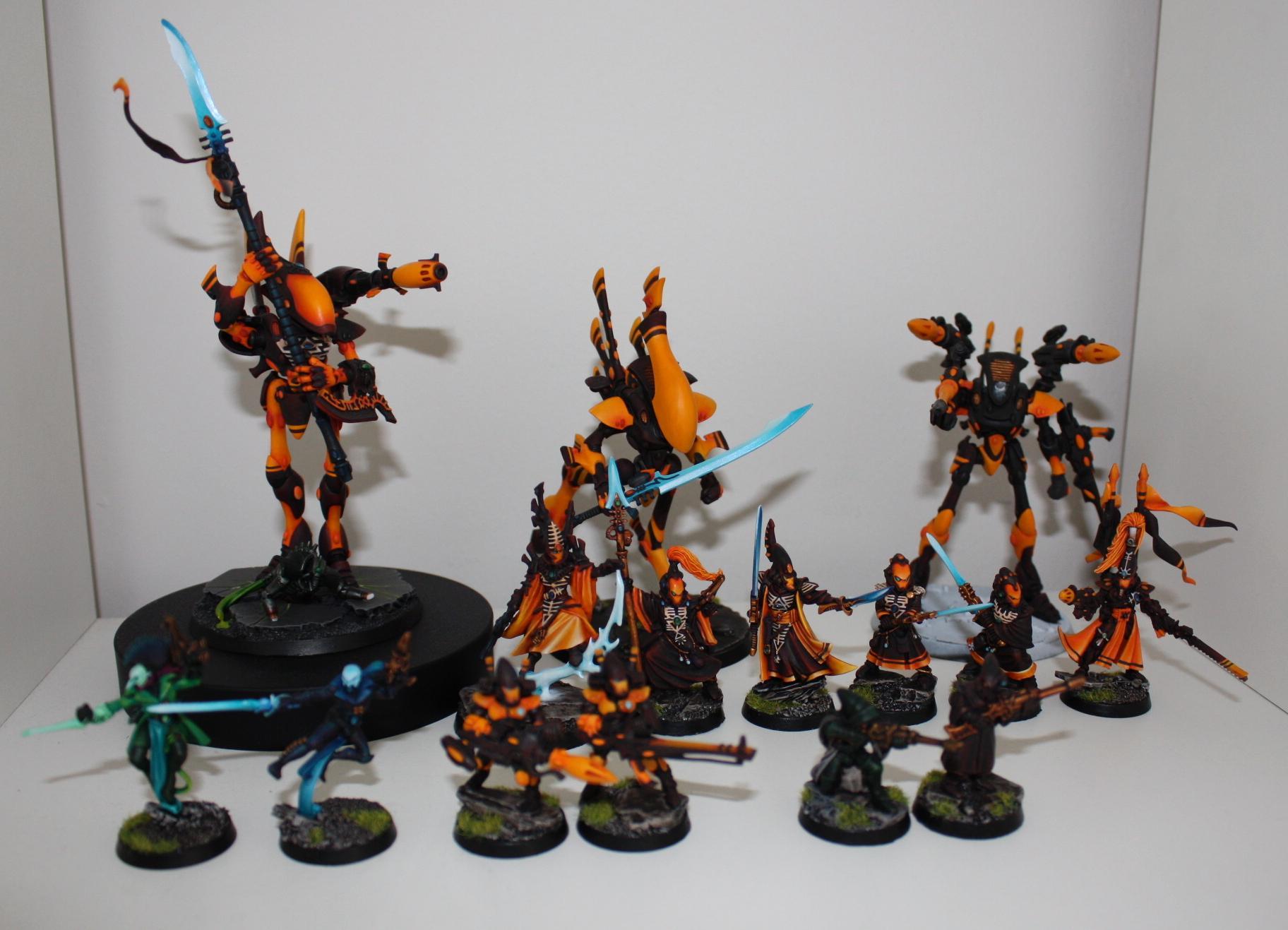 Autarch, Bonesinger, Eldar, Farseer, Harlequins, Warlock, Wraithlord, Wraithseer