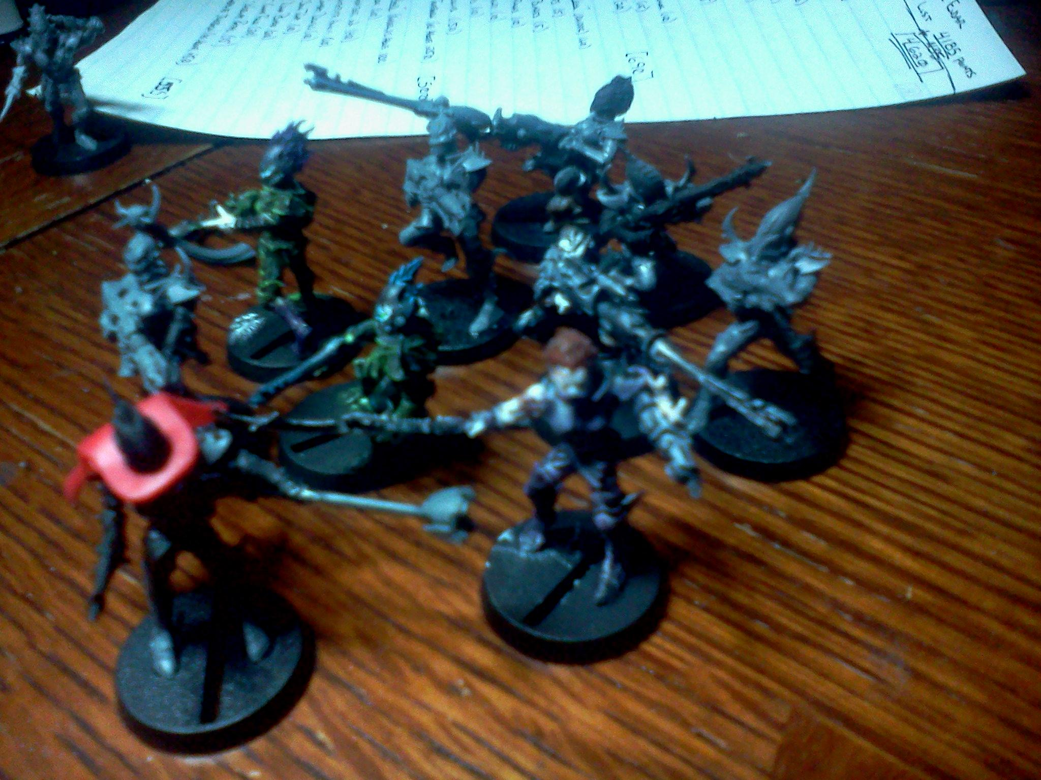 Conversion, Custom, Dark, De, Eldar, Vect
