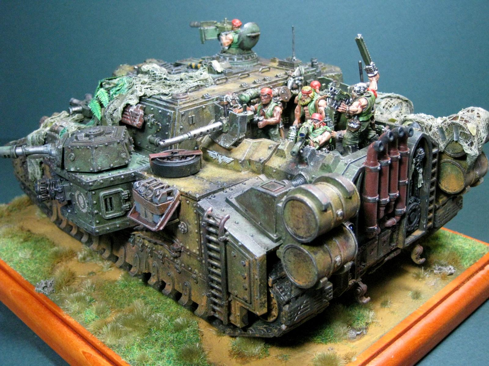Catachan, Forge World, Imperial Guard, Orkmower, Stormlord, Super-heavy, Tank