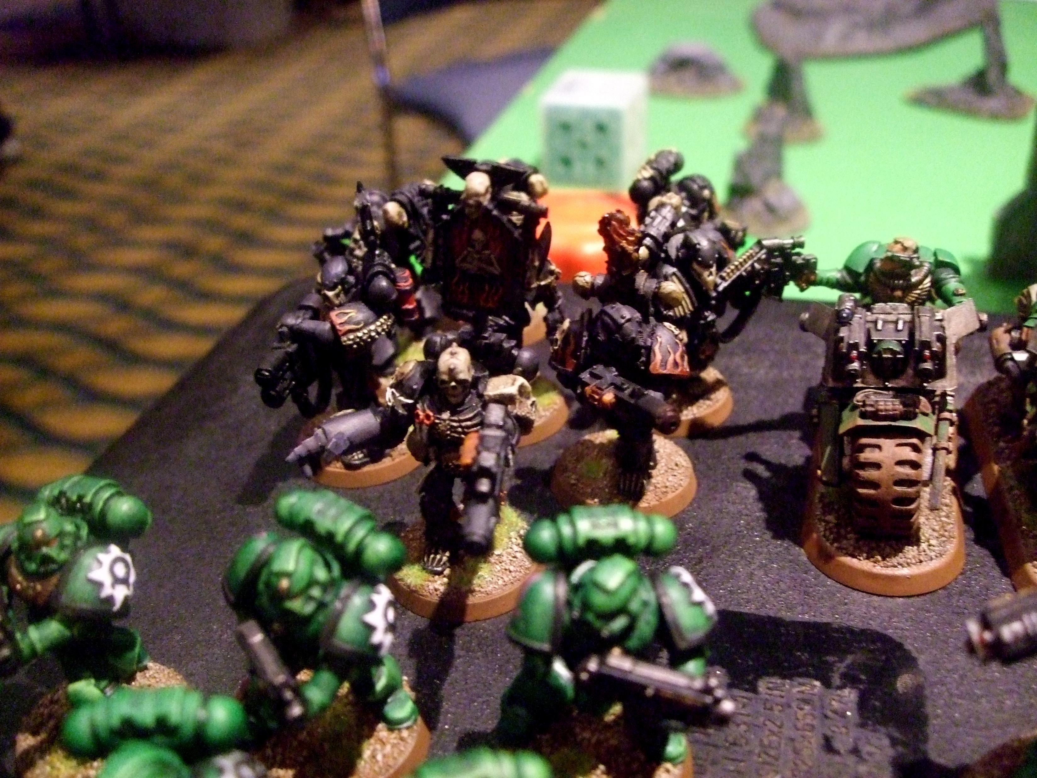 Aurora Chapter, Combimelta, Legion Of The Damned, Power Fist, Space Marines, Tournament Army