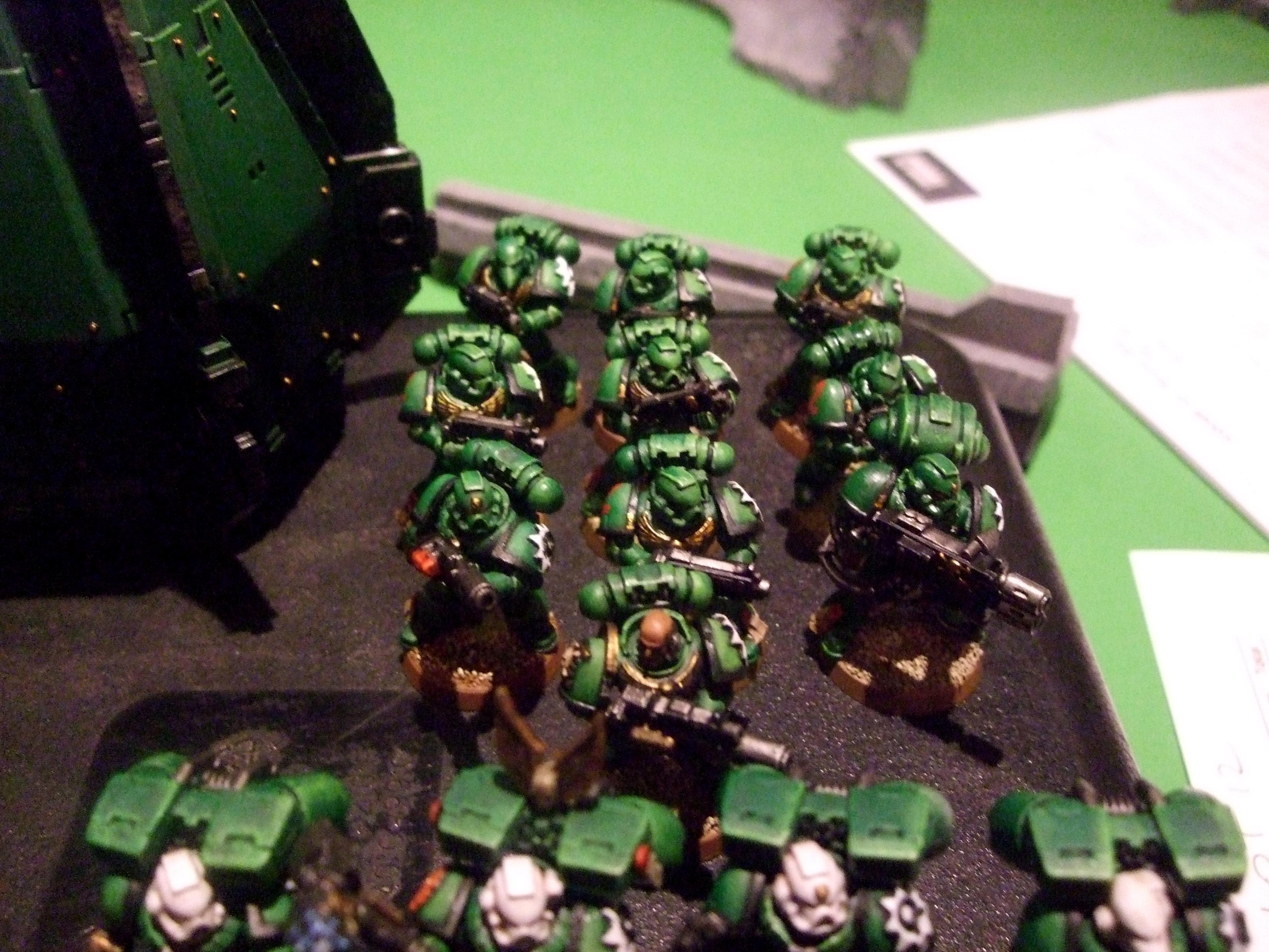 Aurora Chapter, Combimelta, Meltagun, Multimelta, Space Marines, Tournament Army
