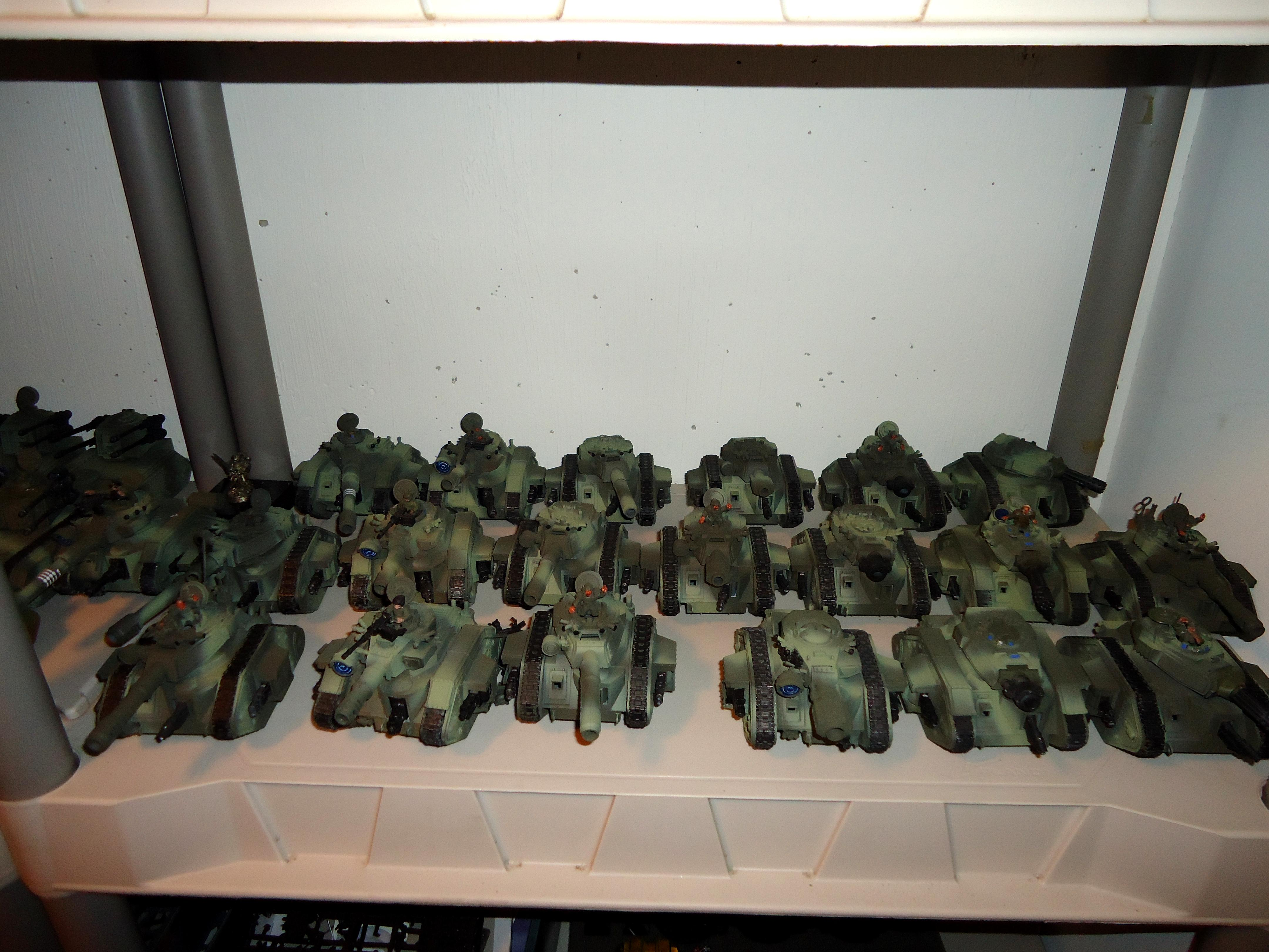 Apocalypse, Armor, Armored Company, Army, Brigade, Imperial Guard, Leman Russ, Tank, Work In Progress