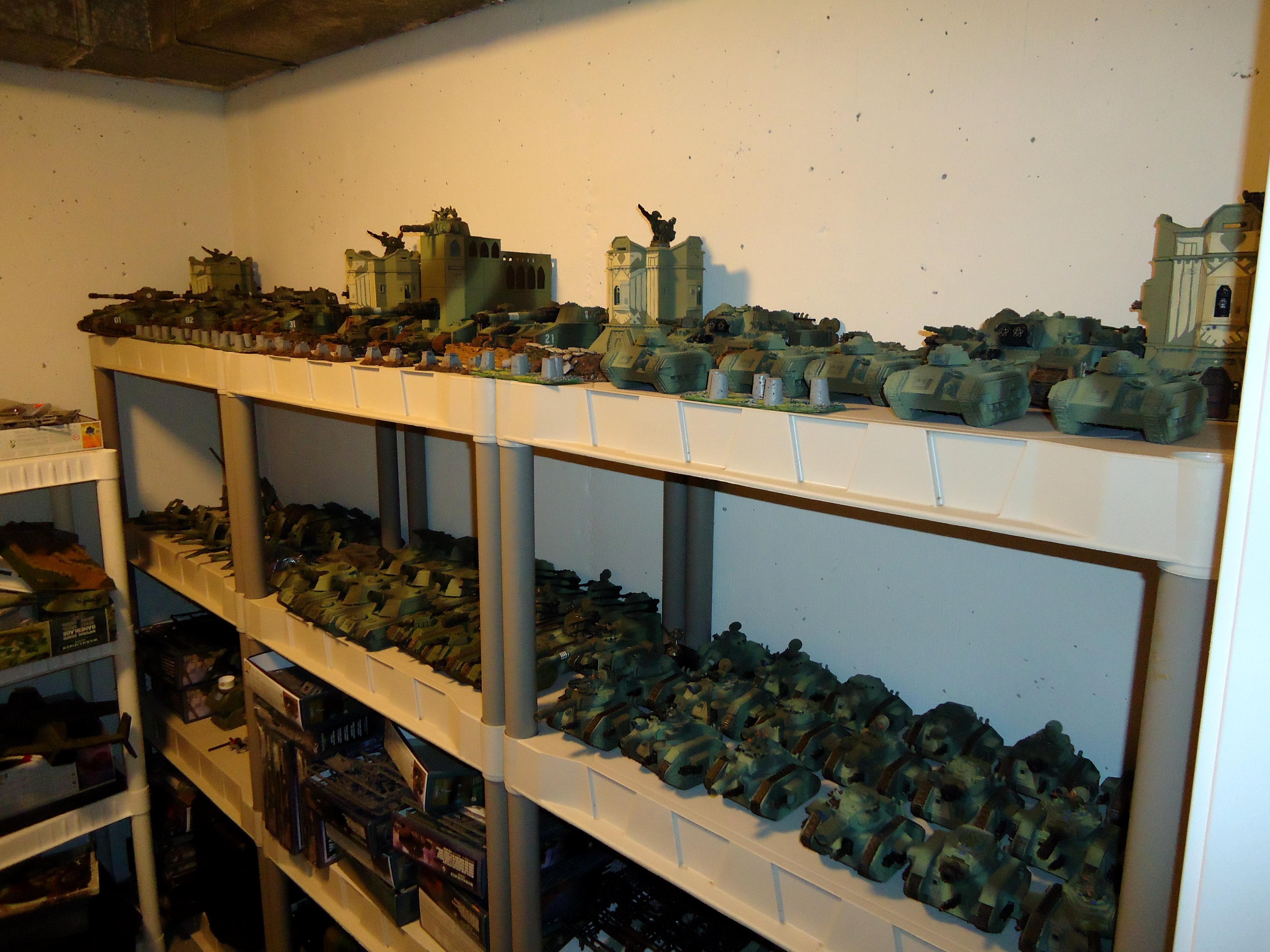 Apocalypse, Armored Company, Army, Brigade, Imperial Guard, Tank, Work In Progress
