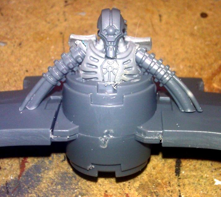 Conversion, Games Workshop Kit Bash, Necrons, Test, Tomb Blade, Warhammer 40,000