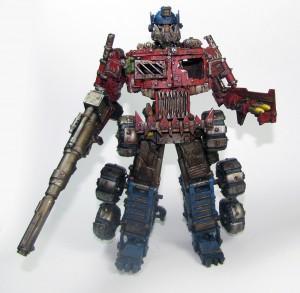 Optimus Prime, Orks, Transformer, Trukk