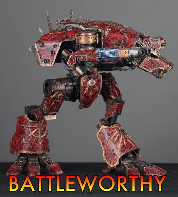 Adeptus Titanicus, Awesome, Chaos, Titan, Warhammer 40,000
