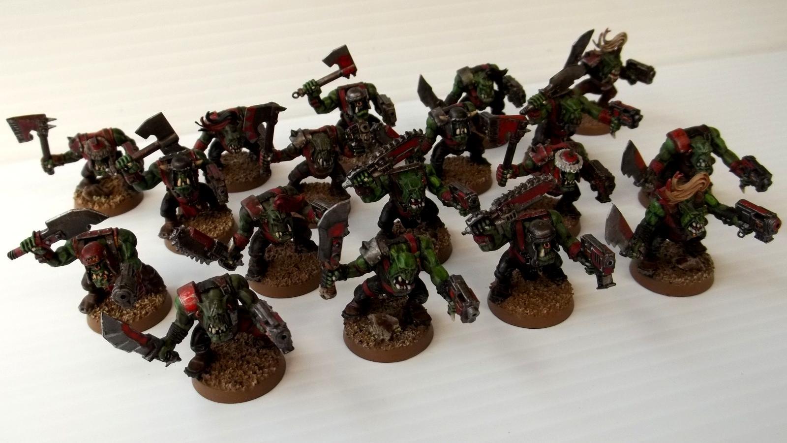 Boy, Evil, Orks, Sunz, Warhammer 40,000