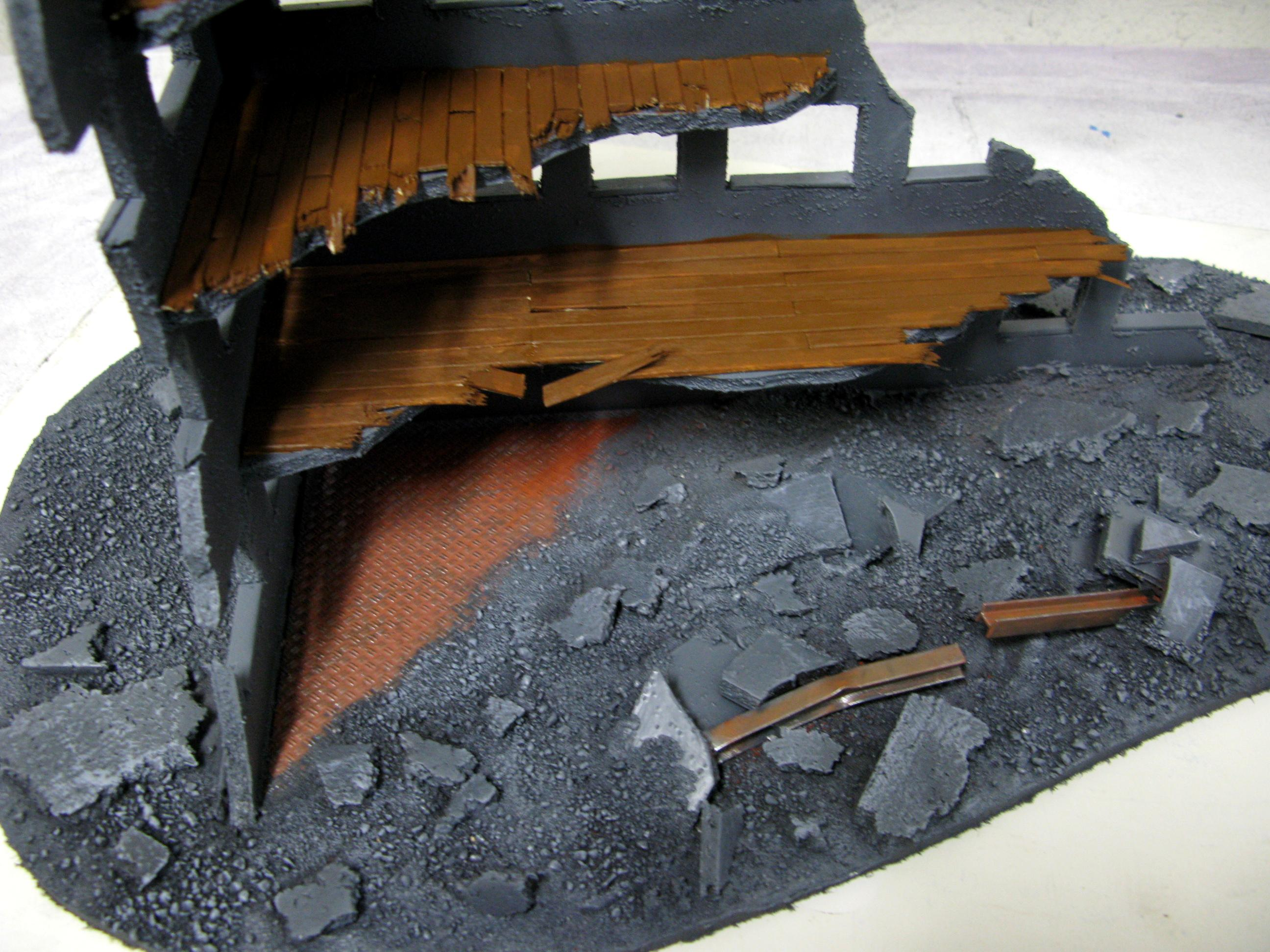 Buildings, Cities Of Death, Mdf, Ruins, Rust, Terrain. Rubble