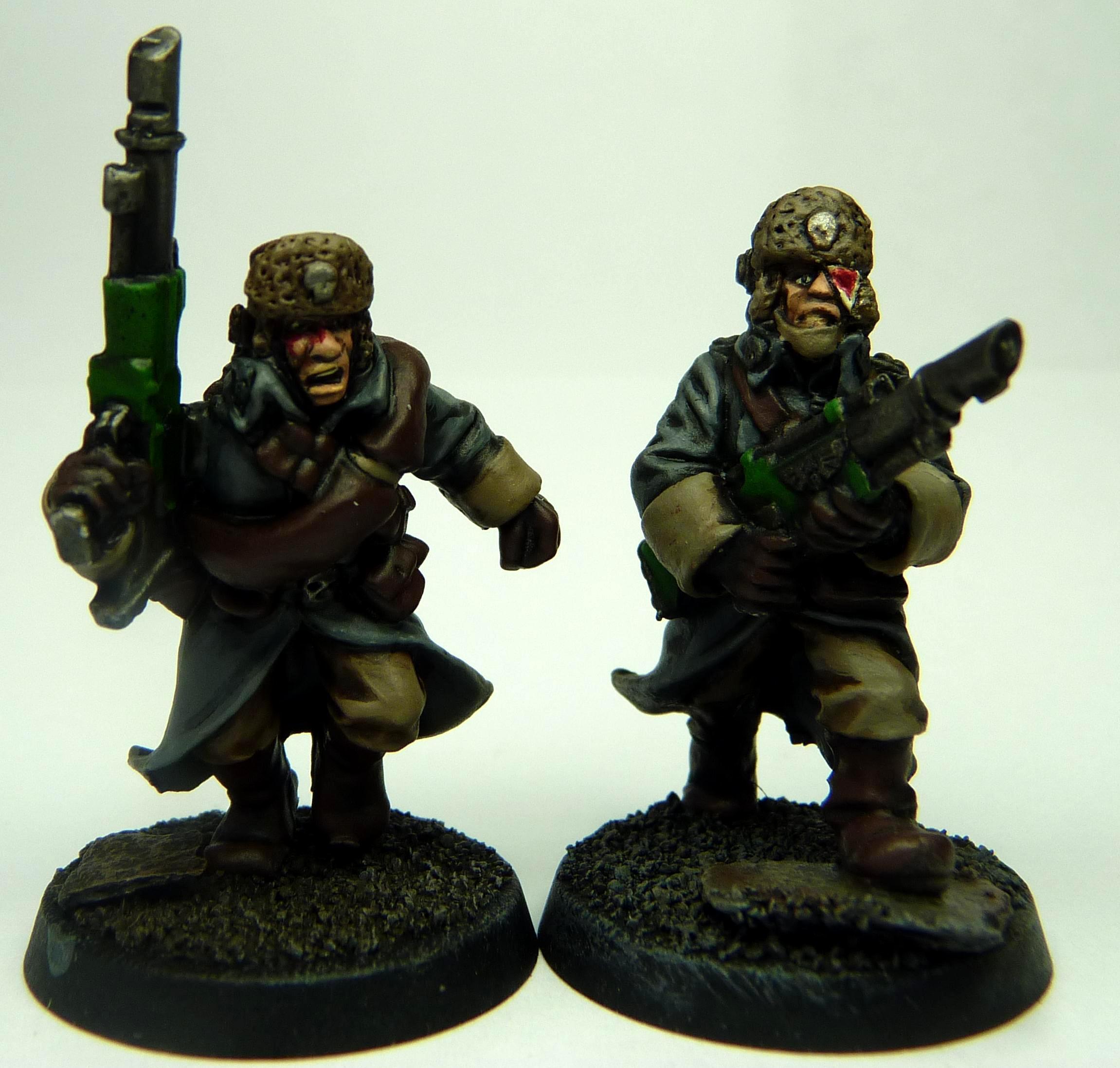 Guard, Valhallan trooper