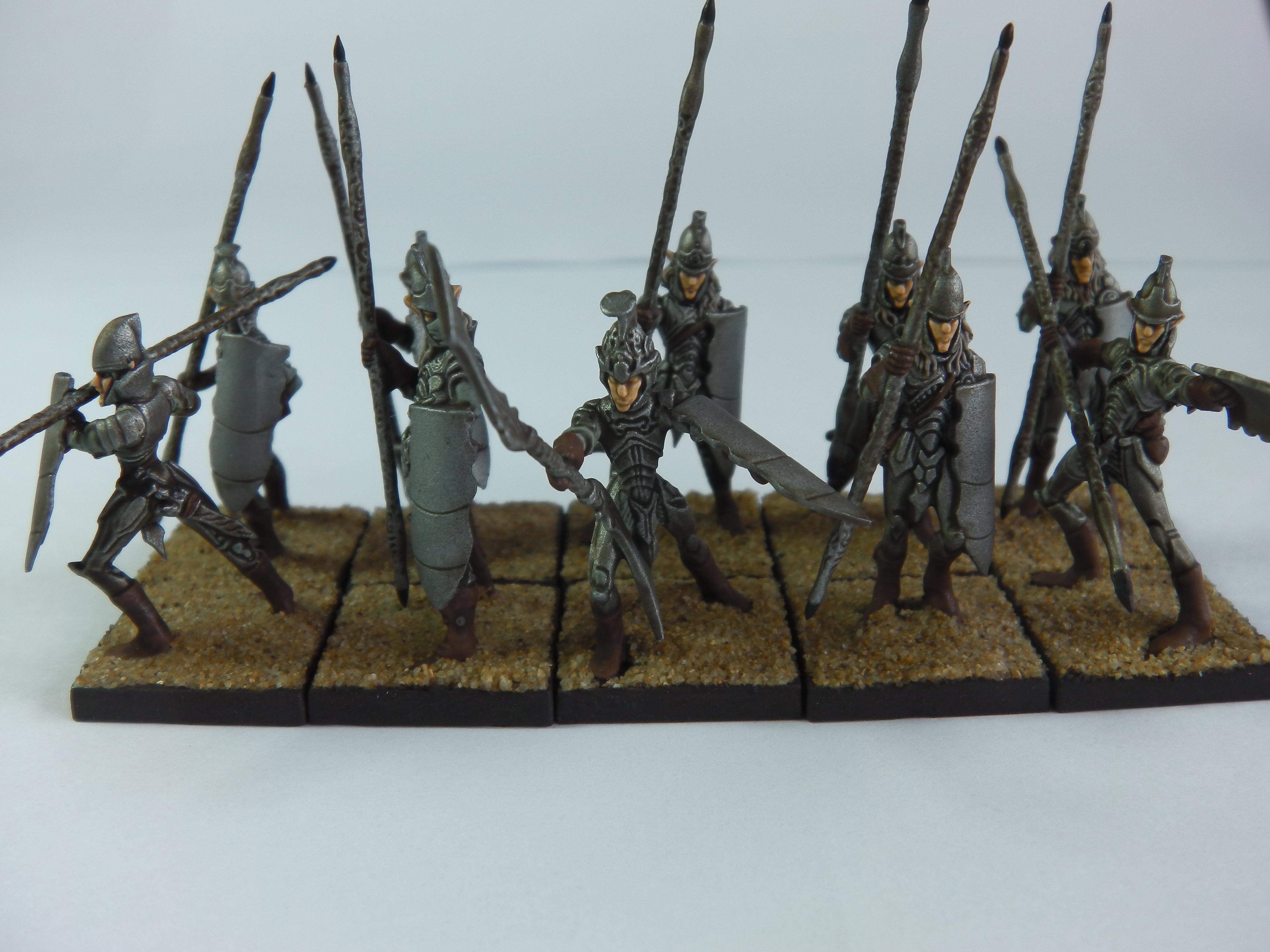Elves, Kings Of War, Mantic Games, Spearmen