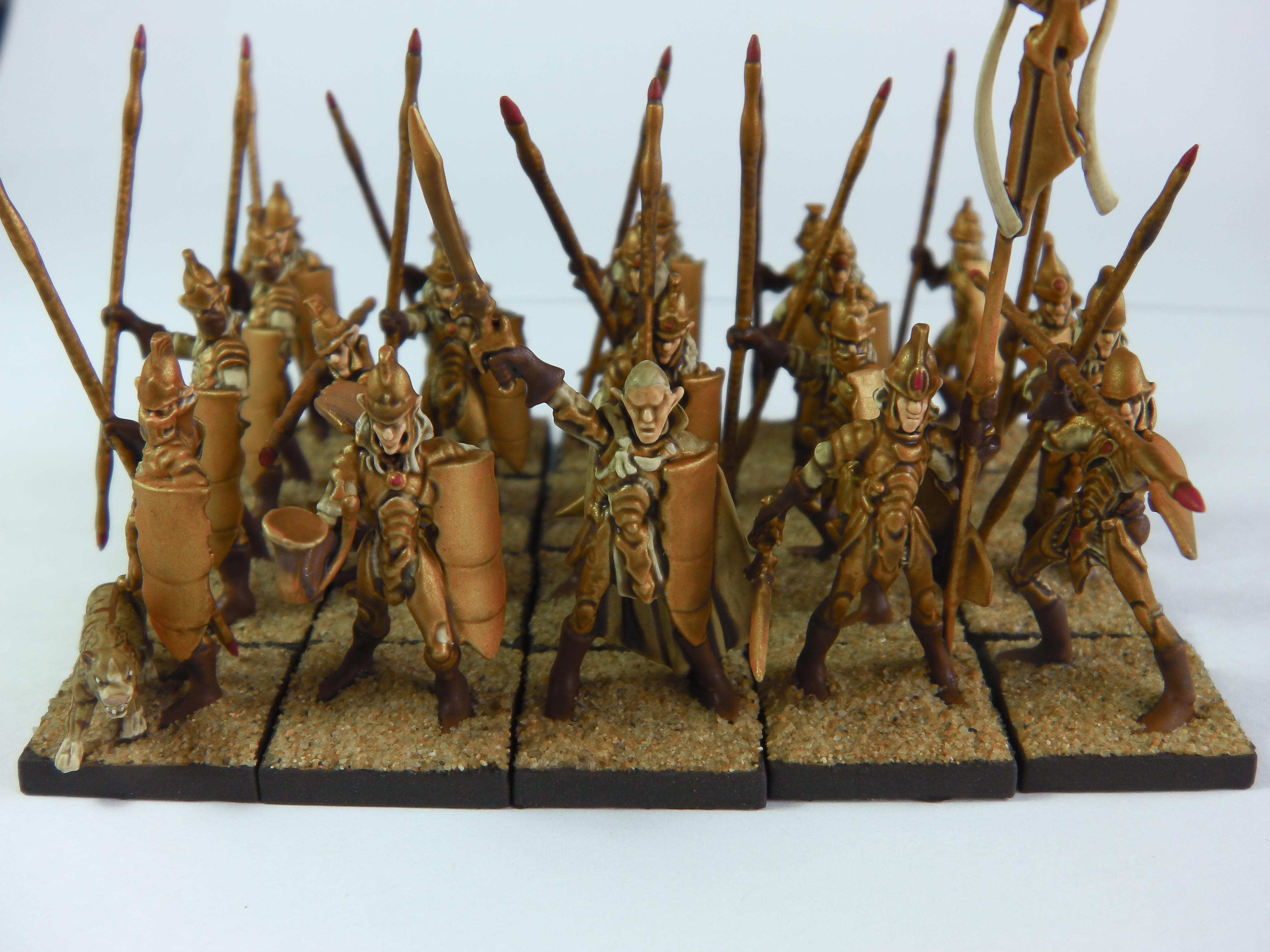 Elves, Kings Of War, Mantic Games, Spearmen