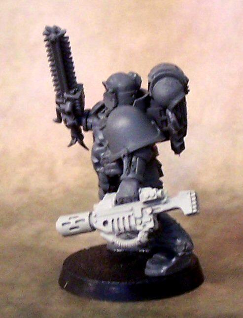 Meltagun, Space Marines, Space Wolves, Work In Progress
