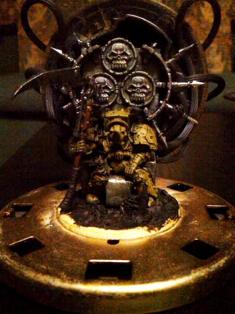 Typhus, Typhus on Throne WIP