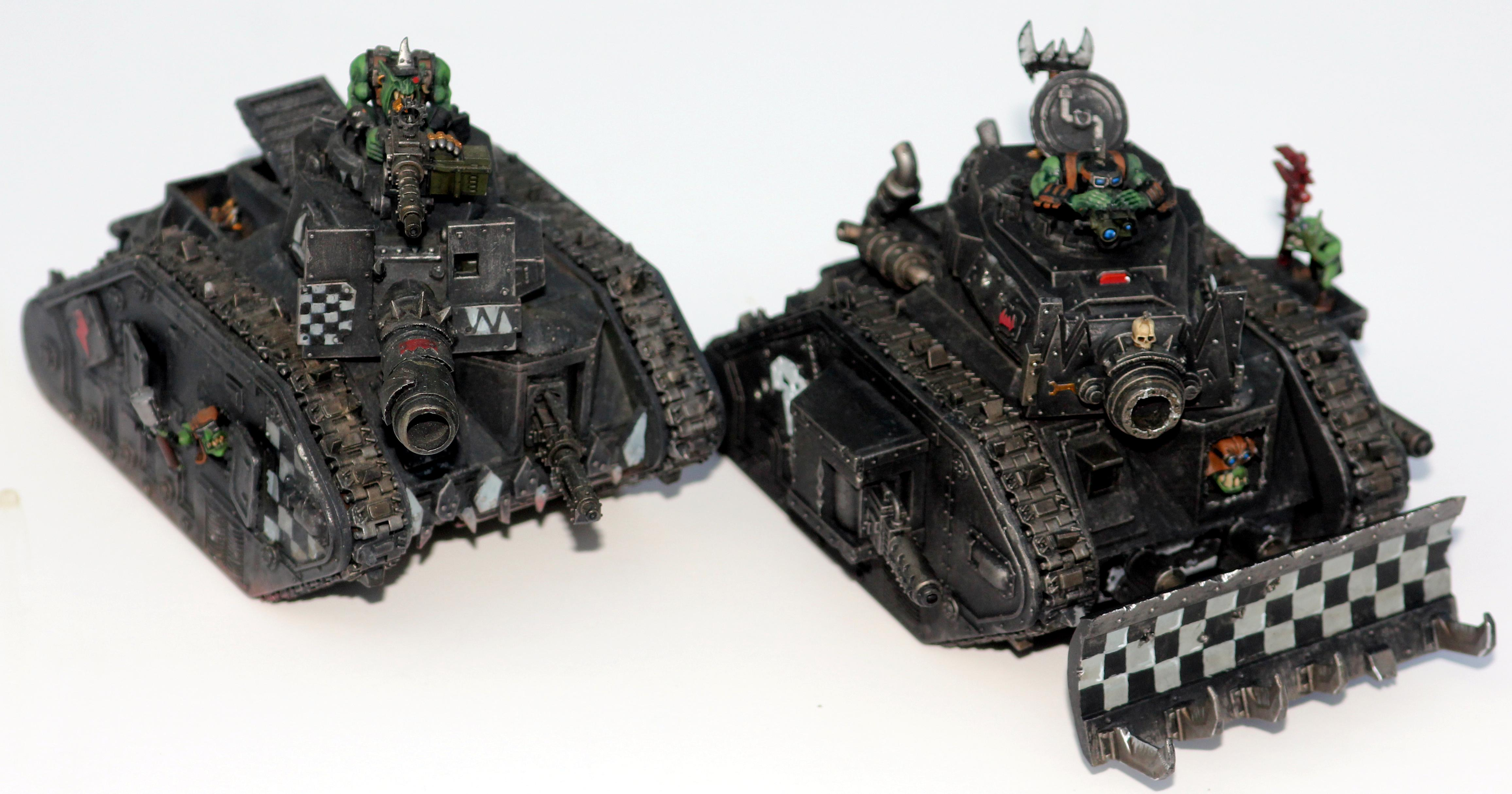 Chimera, Highlights, Looted Wagon, Orks, Warhammer 40,000, Weathered