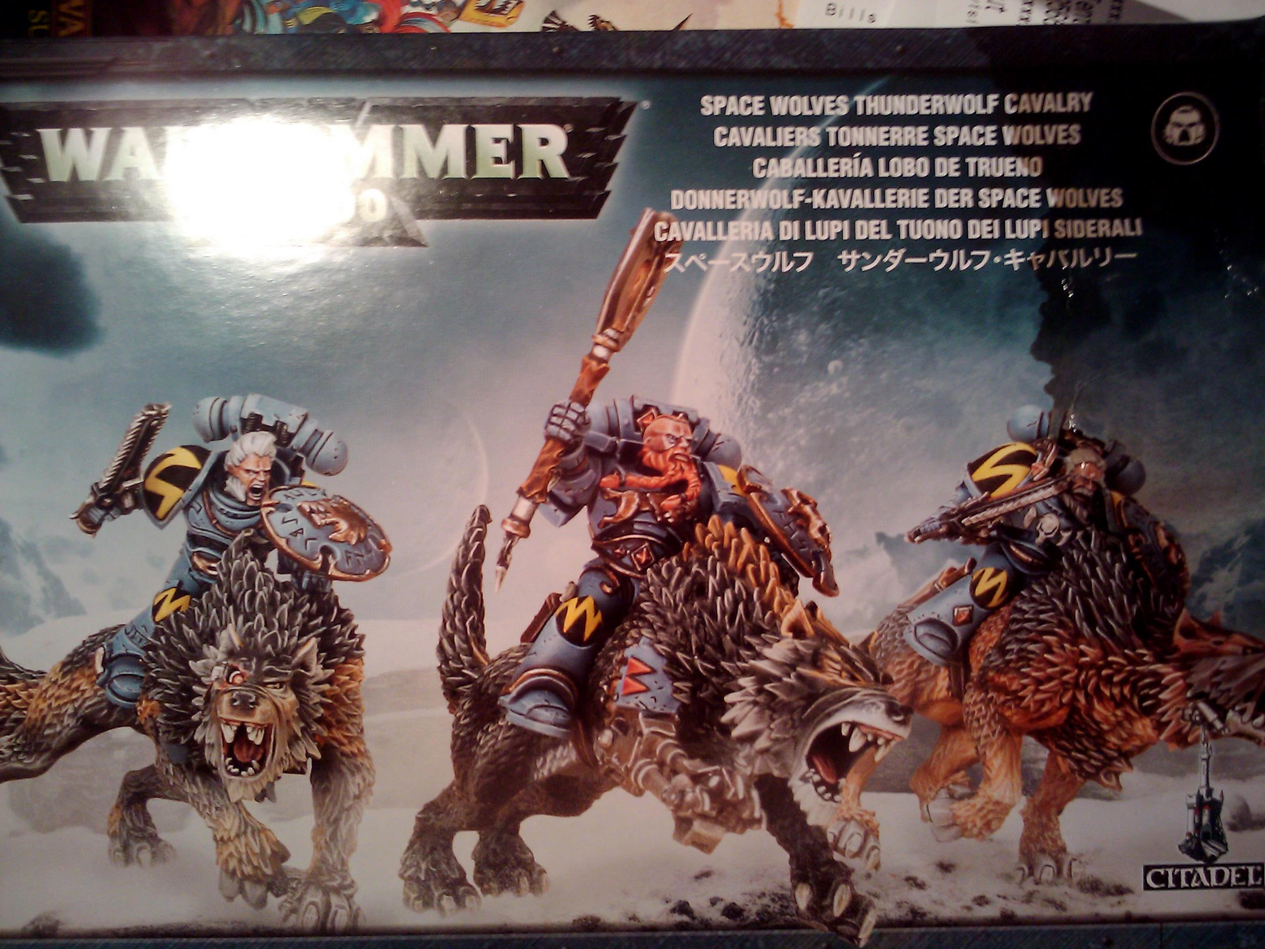 Army, Conversion, Games Workshop, Hobby, Painting, Space Wolves, Sw, Thunder Wolf, Thunderwolf, Warhammer 40,000, Warhammer Fantasy, Wolf, Wolves