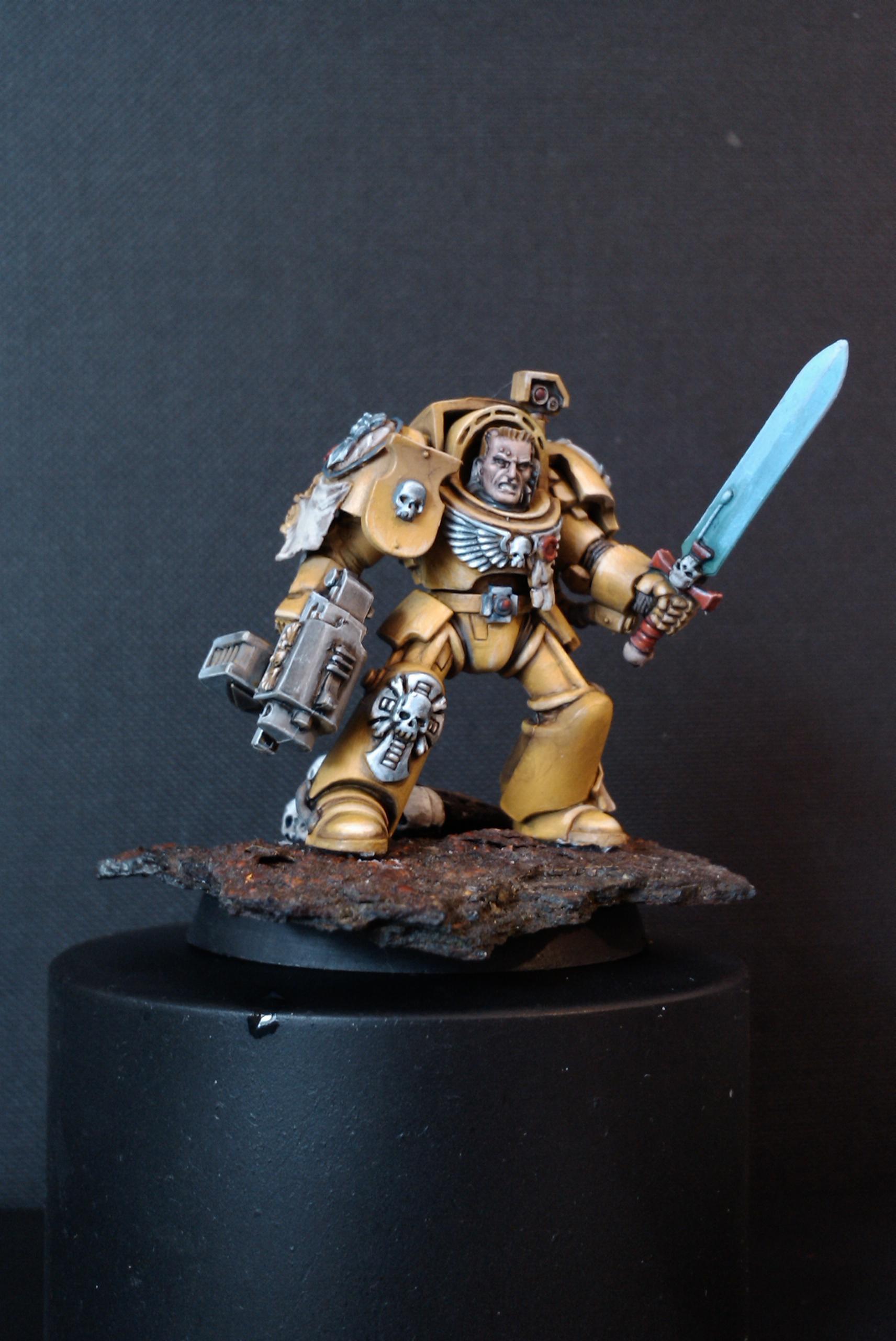 Sergeant, Space Marines, Tda, Terminator Armor