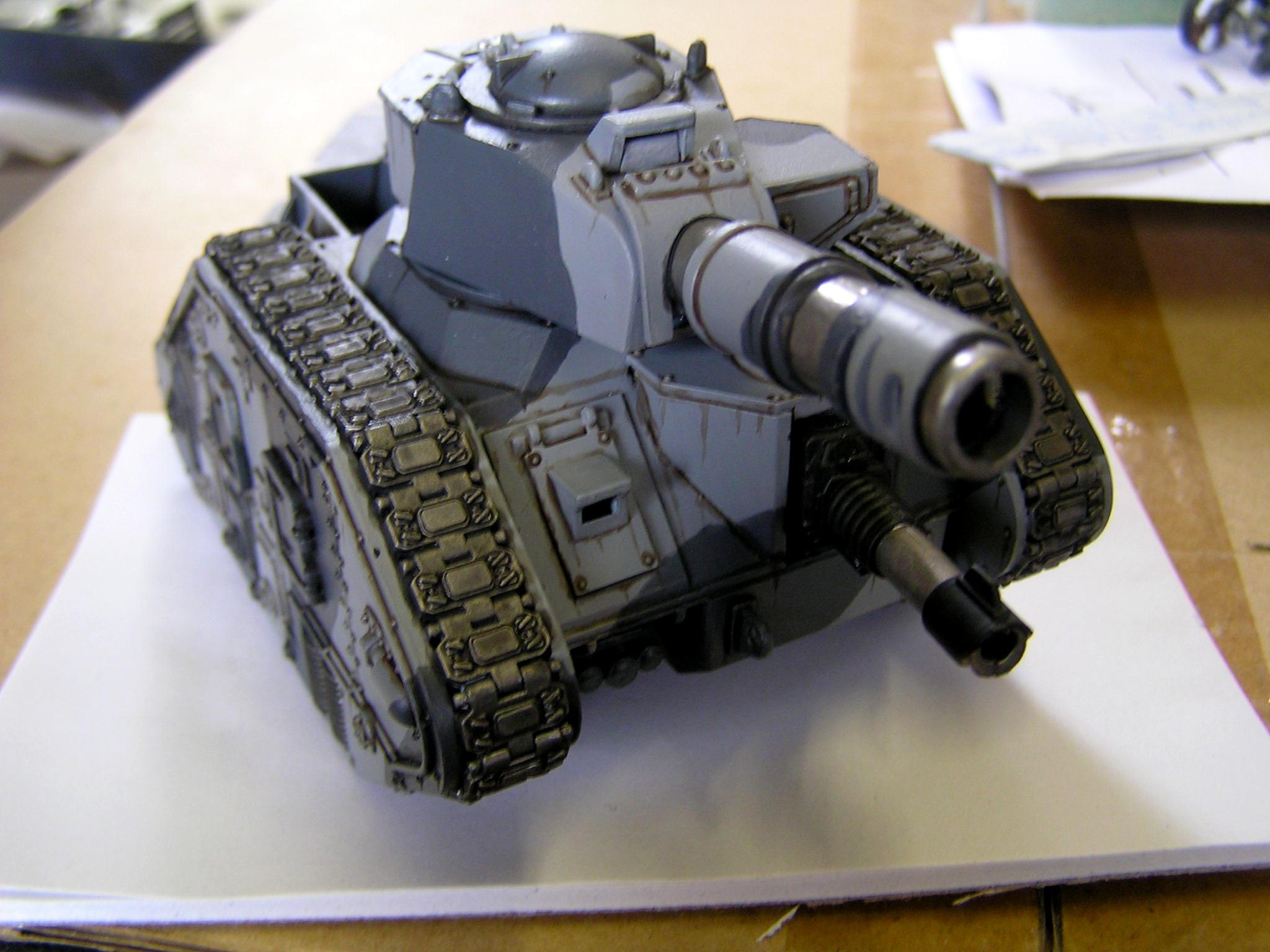 Guard, Imperial, Imperial Guard, Leman Russ, Oil, Tank, Weathered
