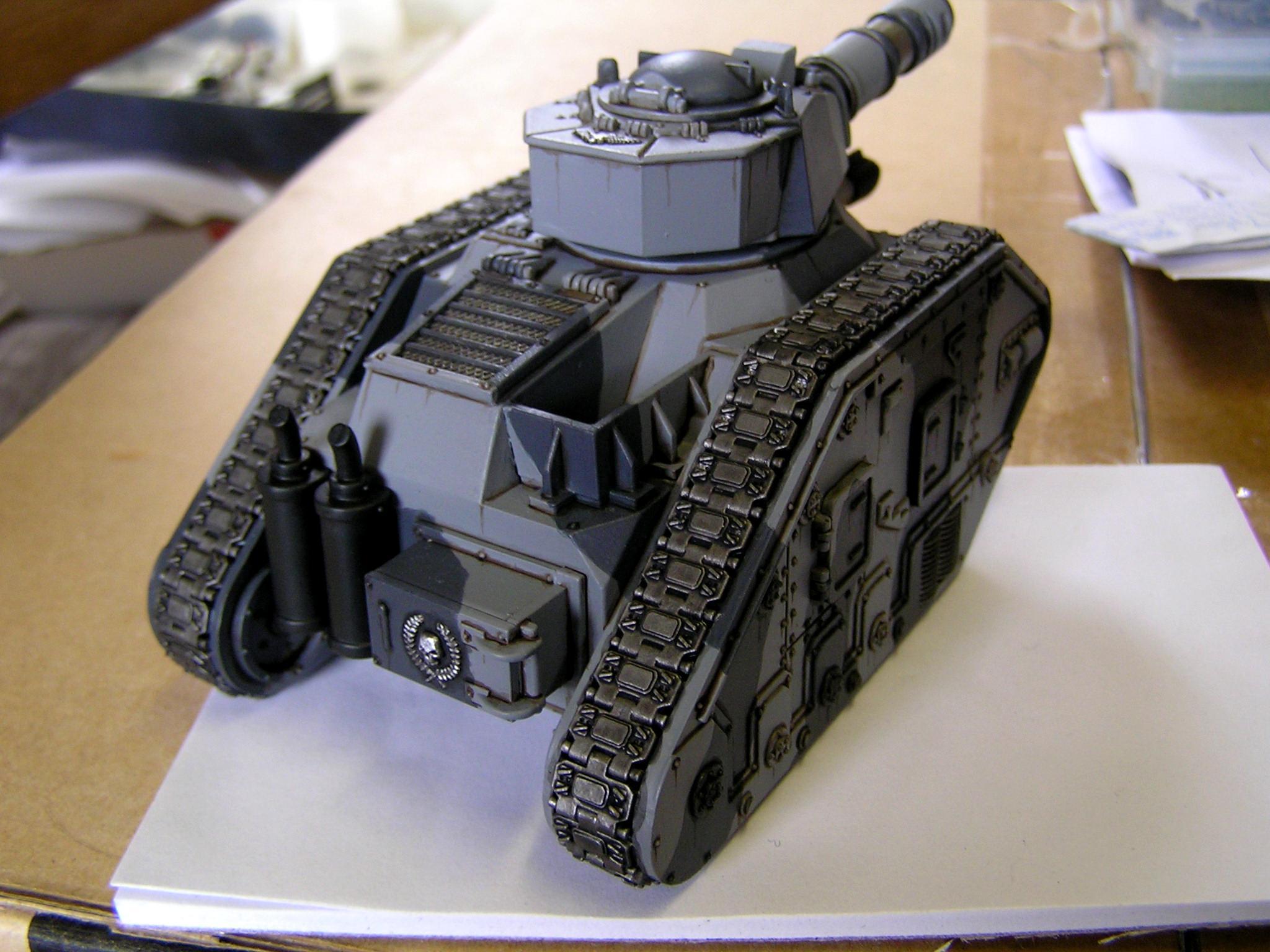Battle Tank, Imperial Guard, Leman Russ, Warhammer 40,000