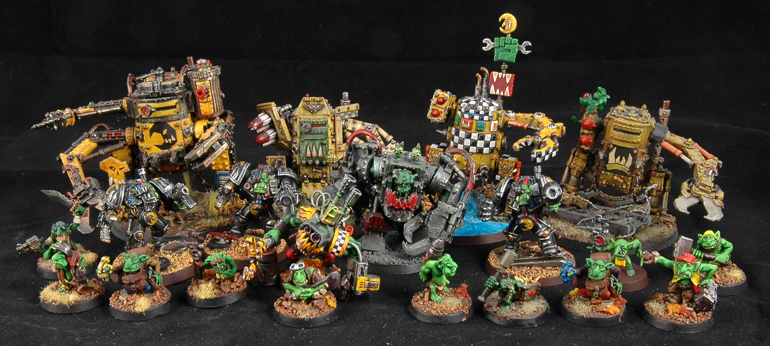 500 Pts, Army, Bad Moons, Orks, Warhammer 40,000