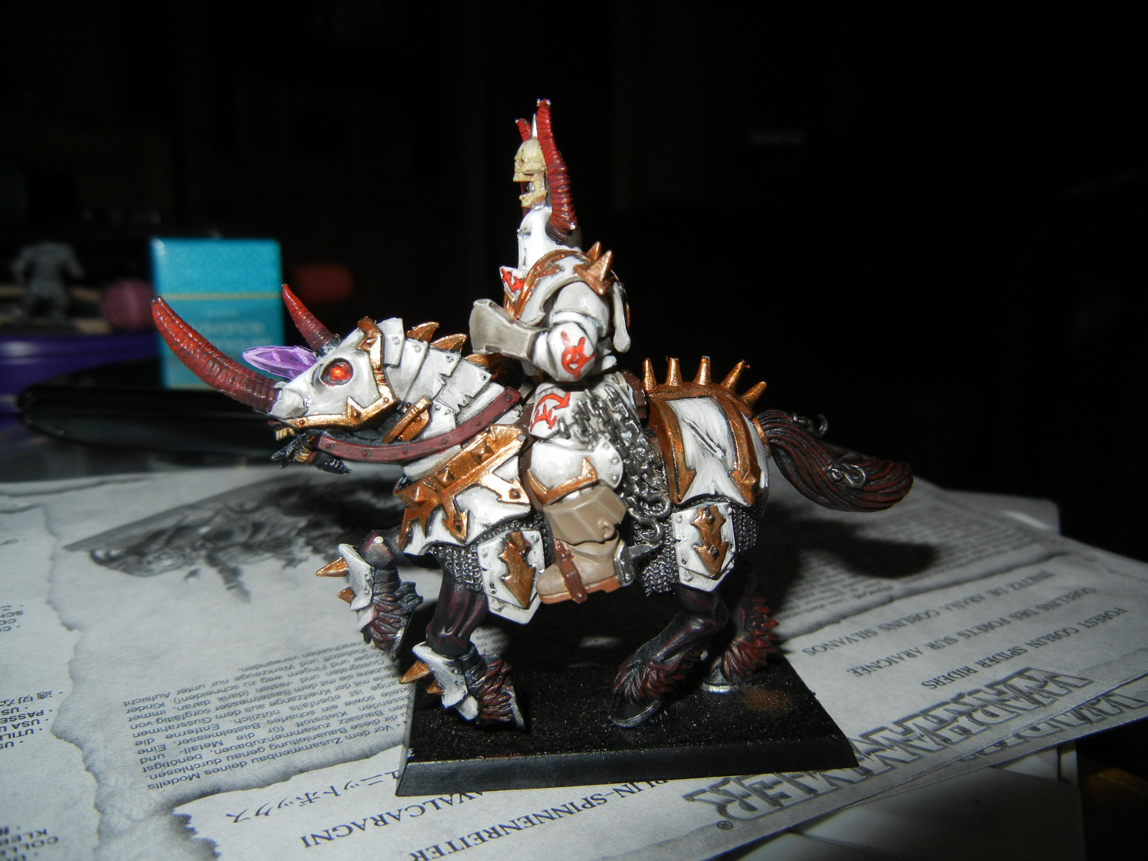 Chaos knight of Tzeentch almost done 3