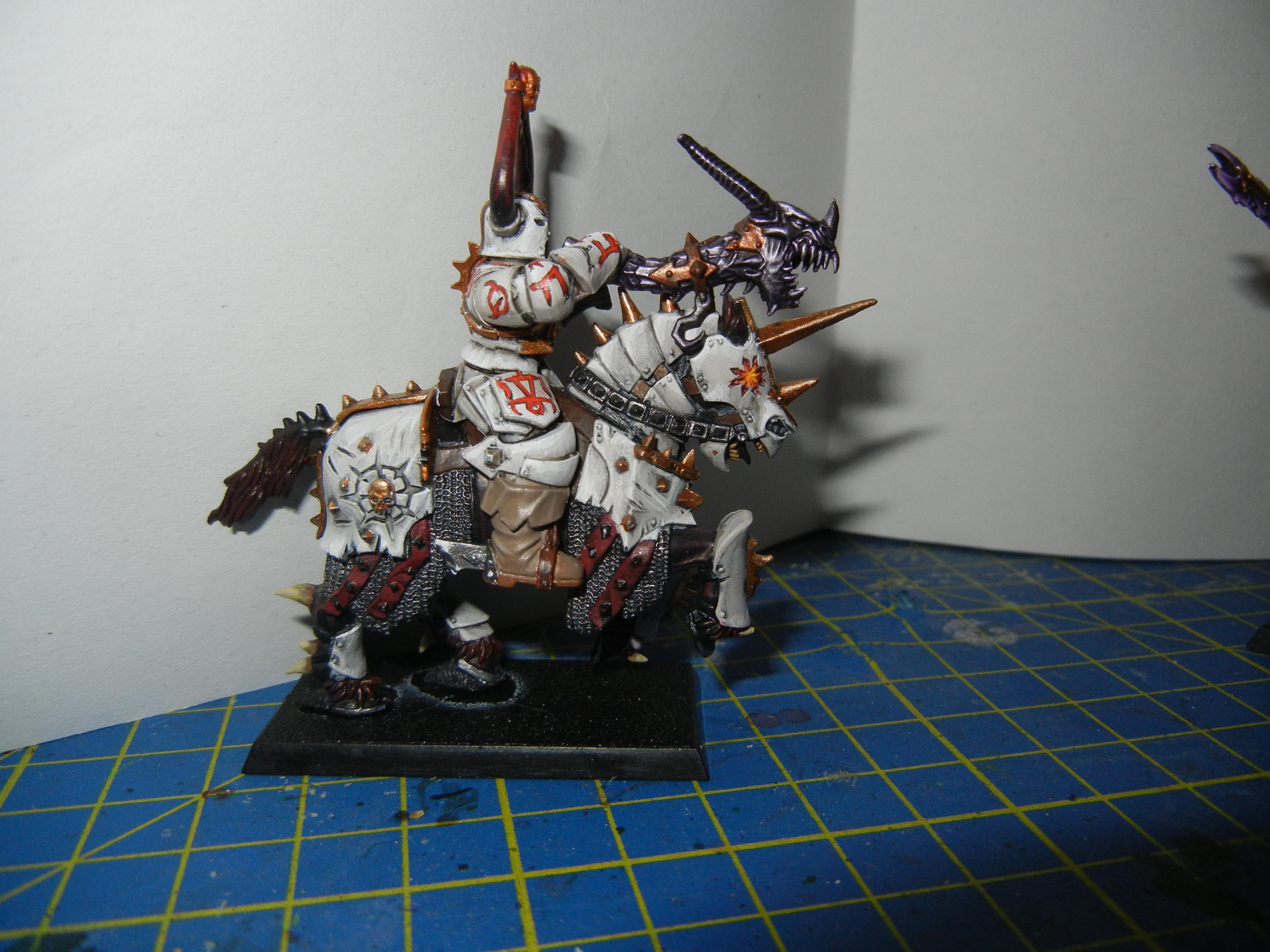 Chaos knight of Tzeentch almost done 5