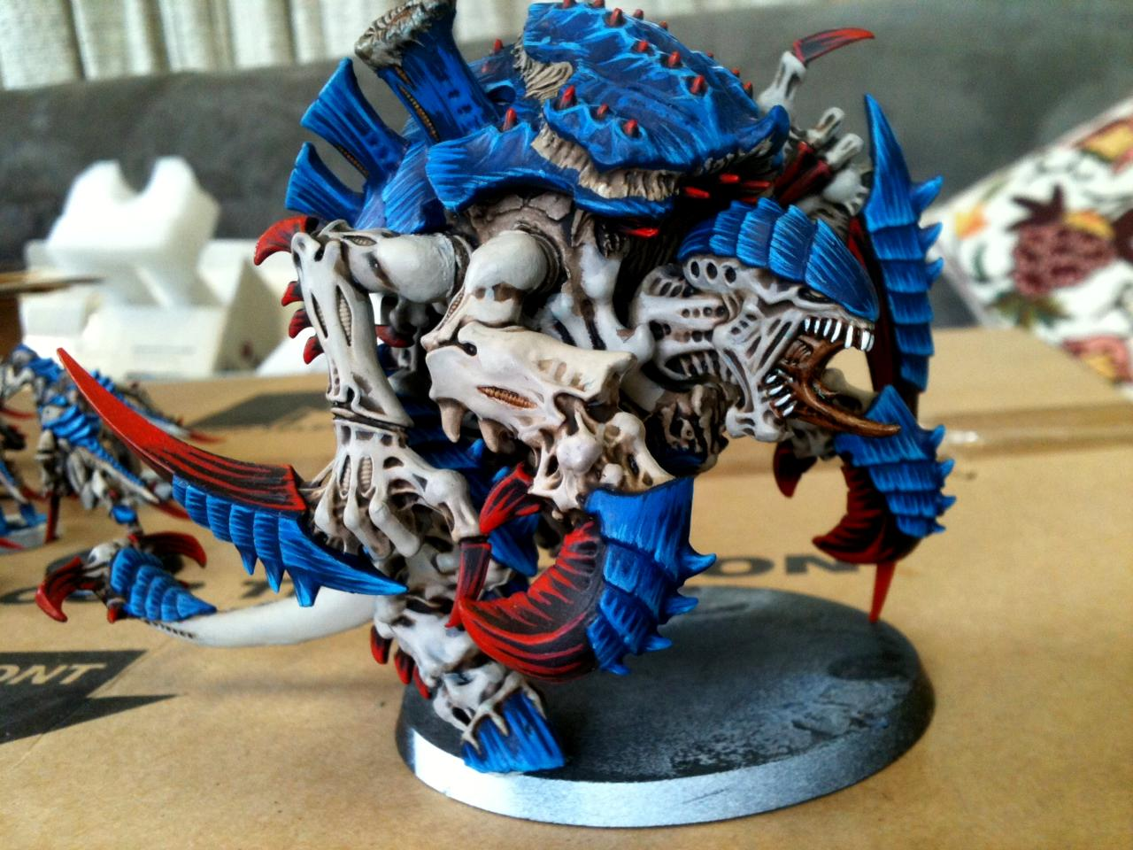 Carnafex, Nids, Red White And Blue, Tyranids