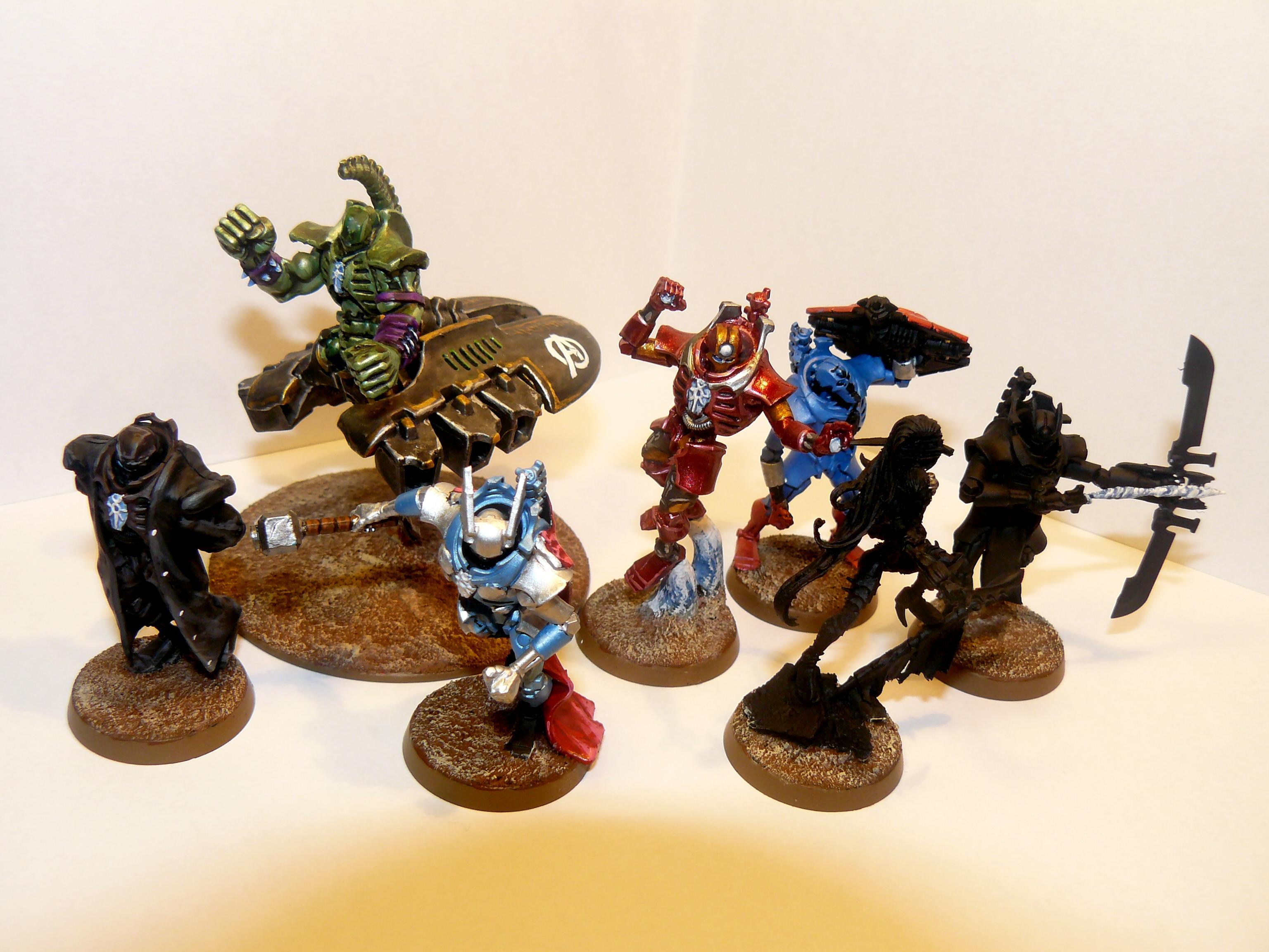 Avengers, Iron Crons, Marvel, Necrons