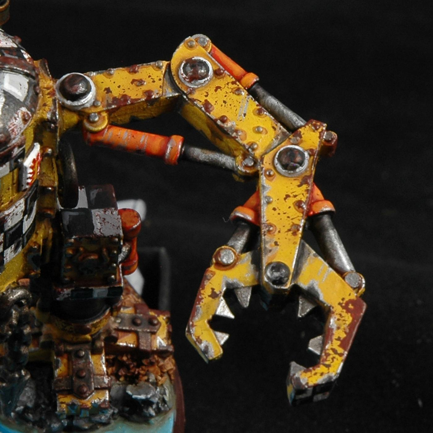Methods, Orks, Rust, Warhammer 40,000, Work In Progress