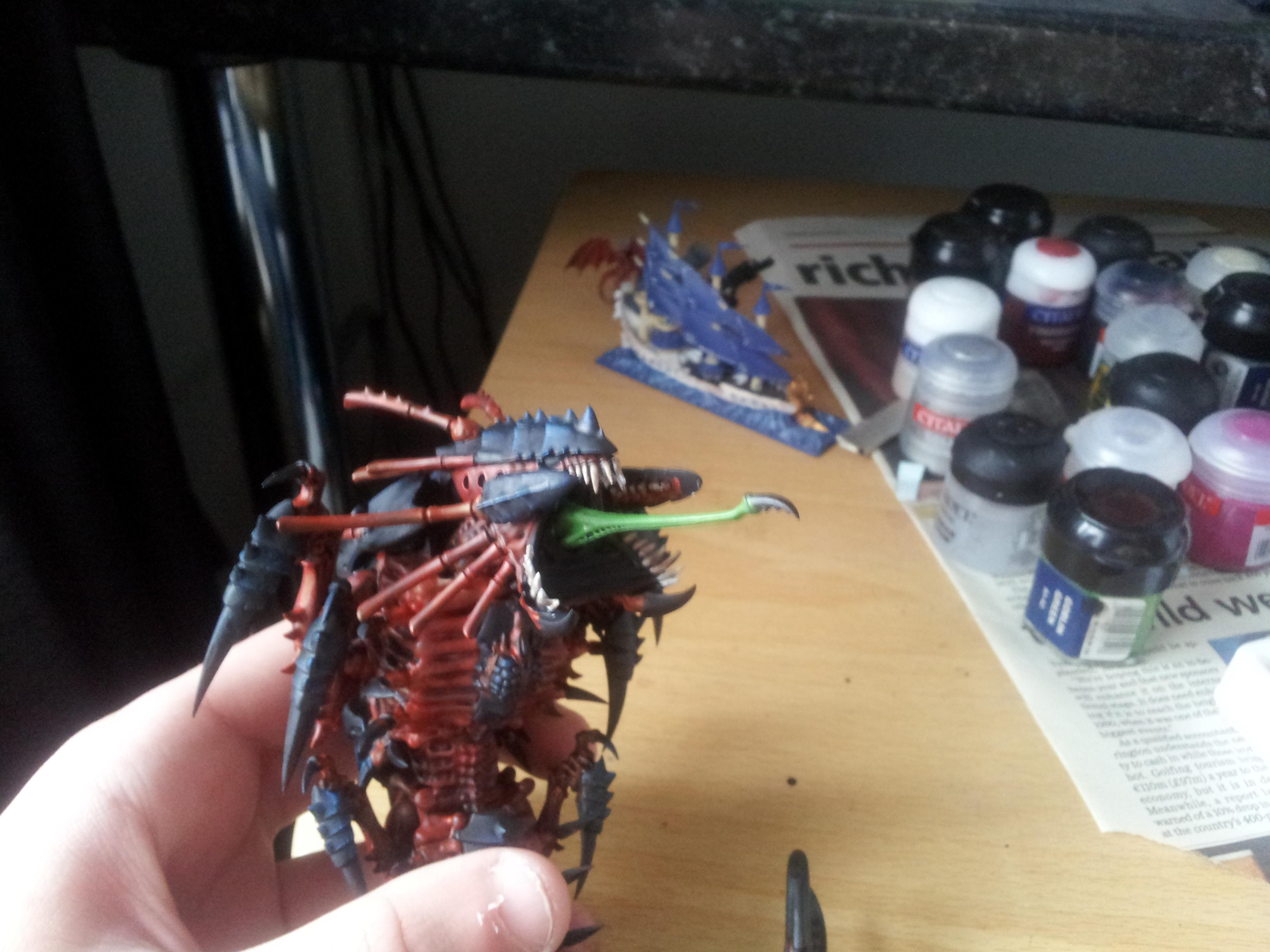 Deadshot, Hive Fleet Behemoth, Mawloc, Tyranids, Work In Progress