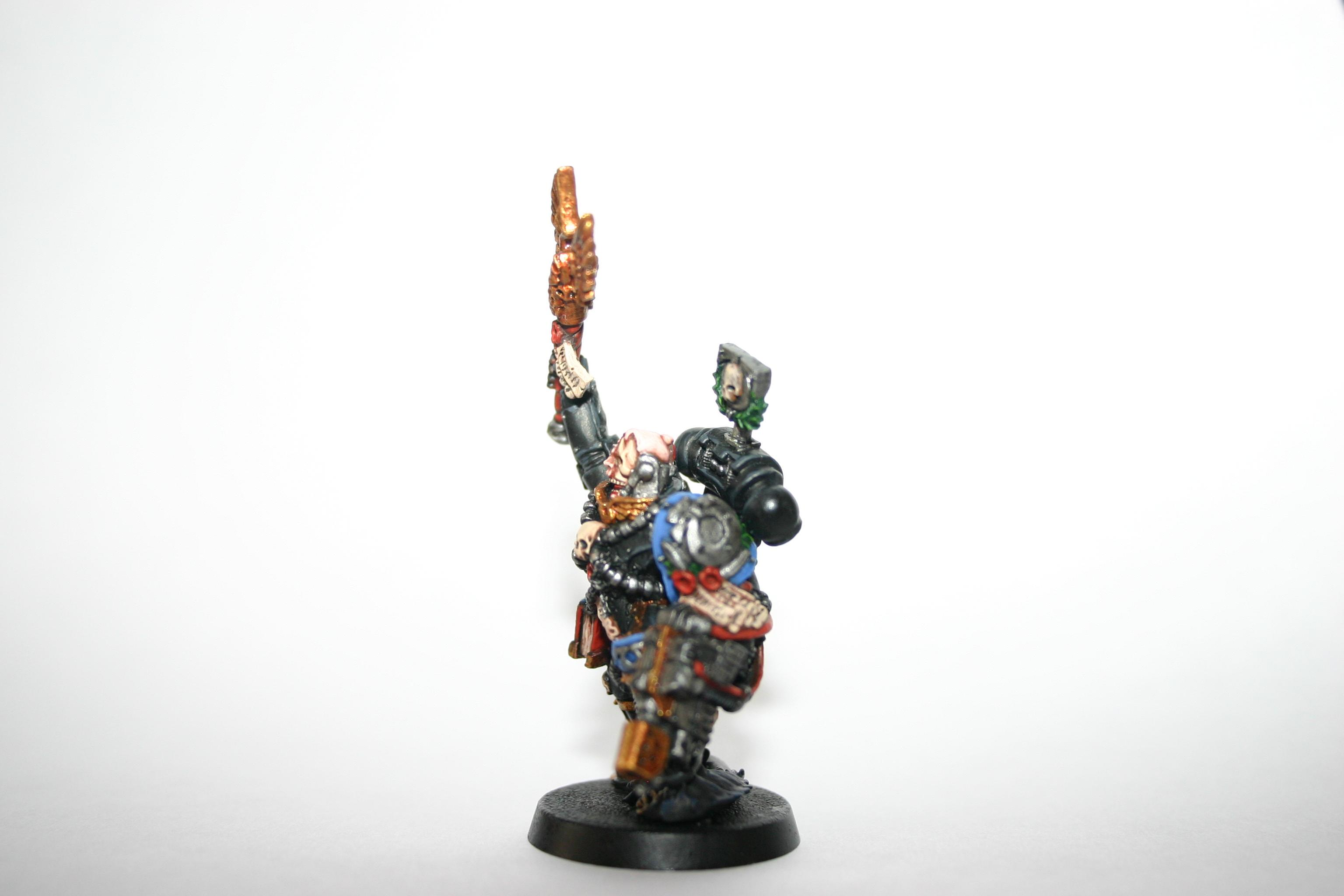 Cassius, Chaplain, Space Marines, Ultramarines, Warhammer 40,000, Work In Progress