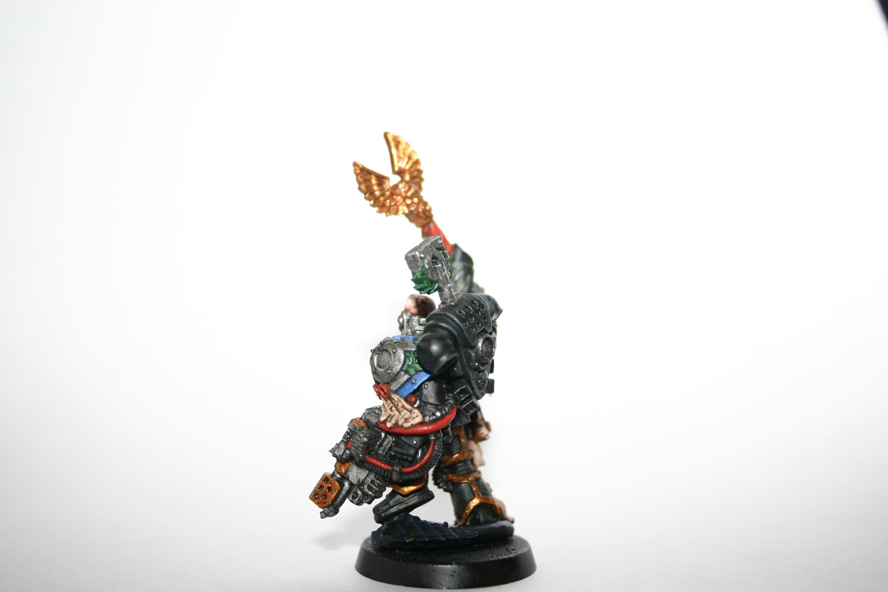 Cassius, Chaplain, Space Marines, Ultramarines, Warhammer 40,000, Work In Progress
