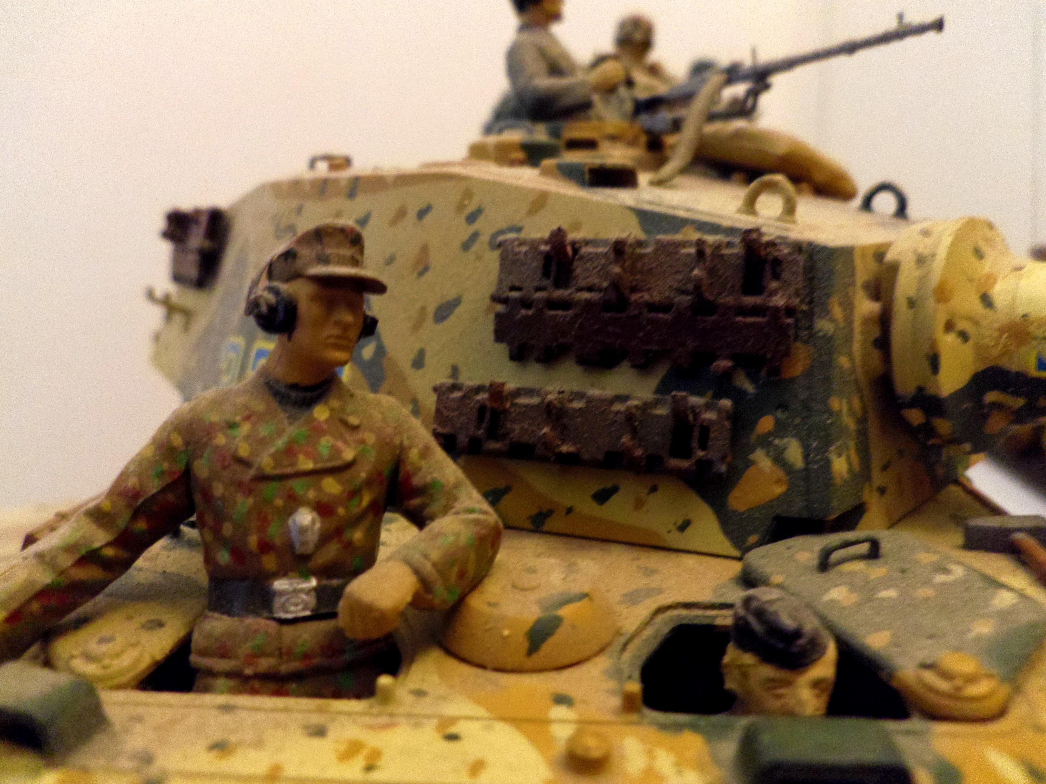 World War 2, King Tiger crew