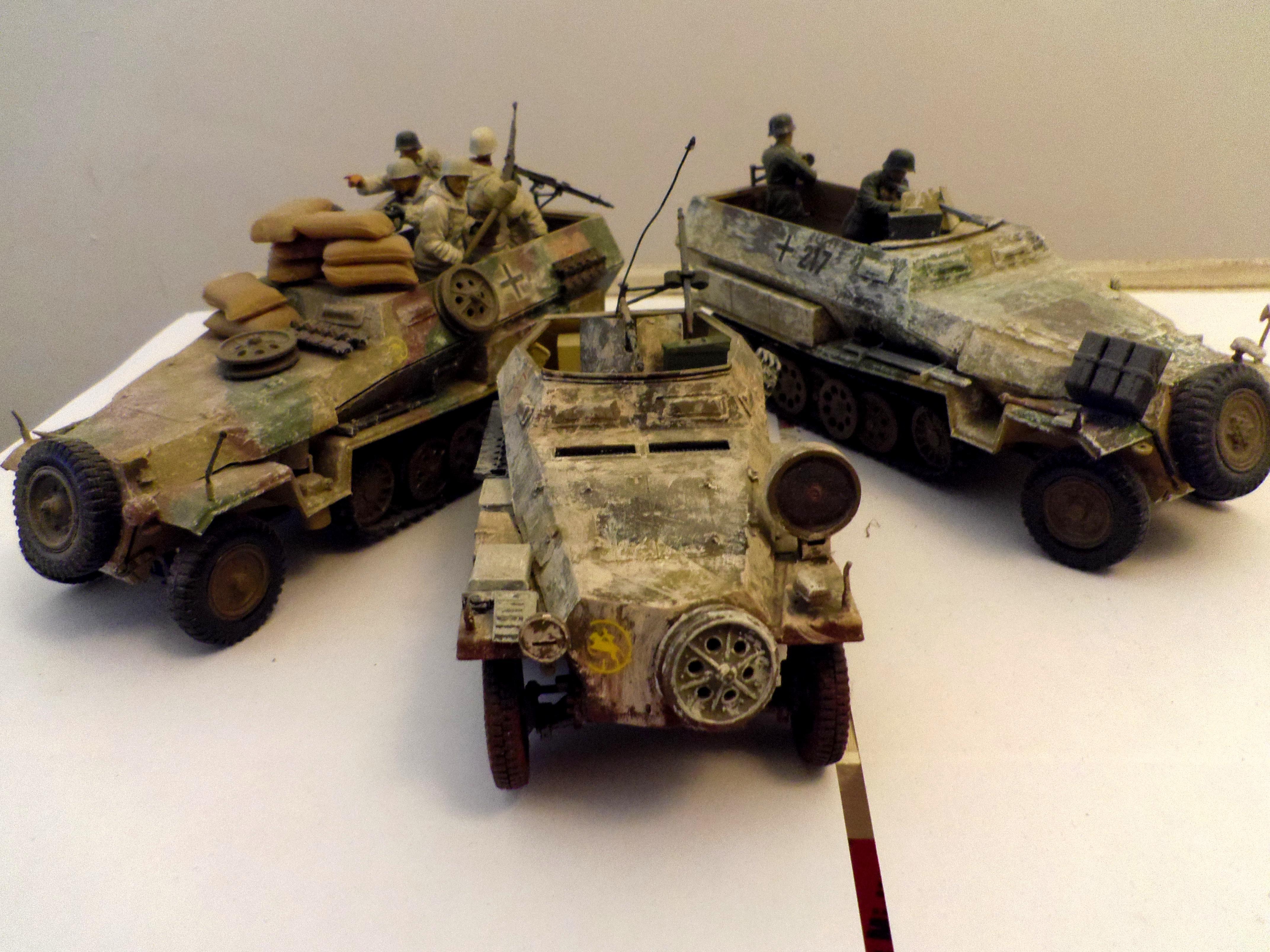 World War 2, Sdkfz 250 & 251 ausf D