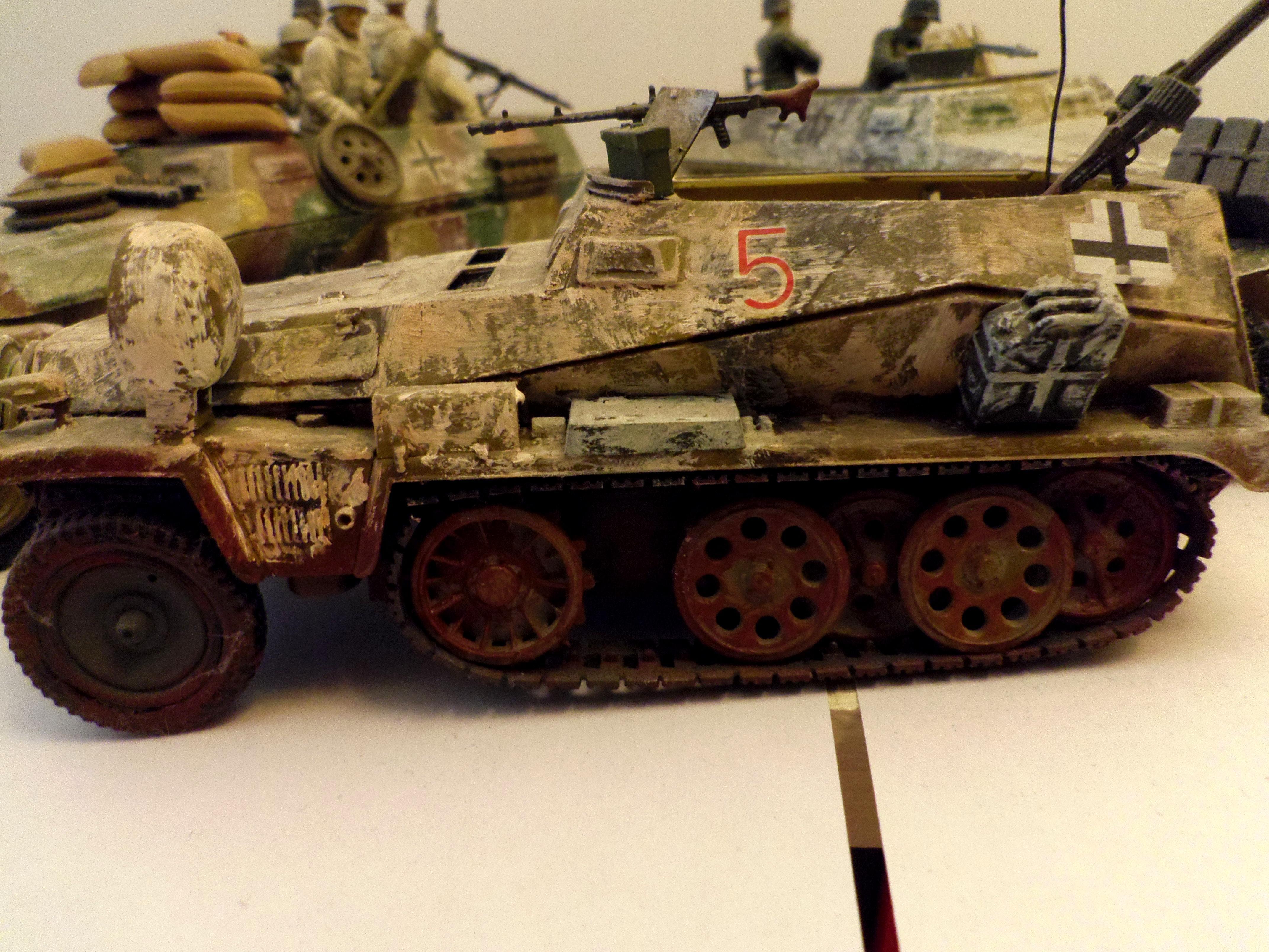 World War 2, sdkfz 250 ausf D