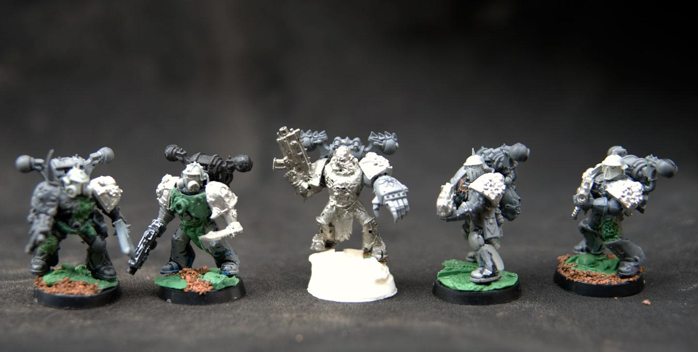 Chaos, Plague Marines, Second Hand