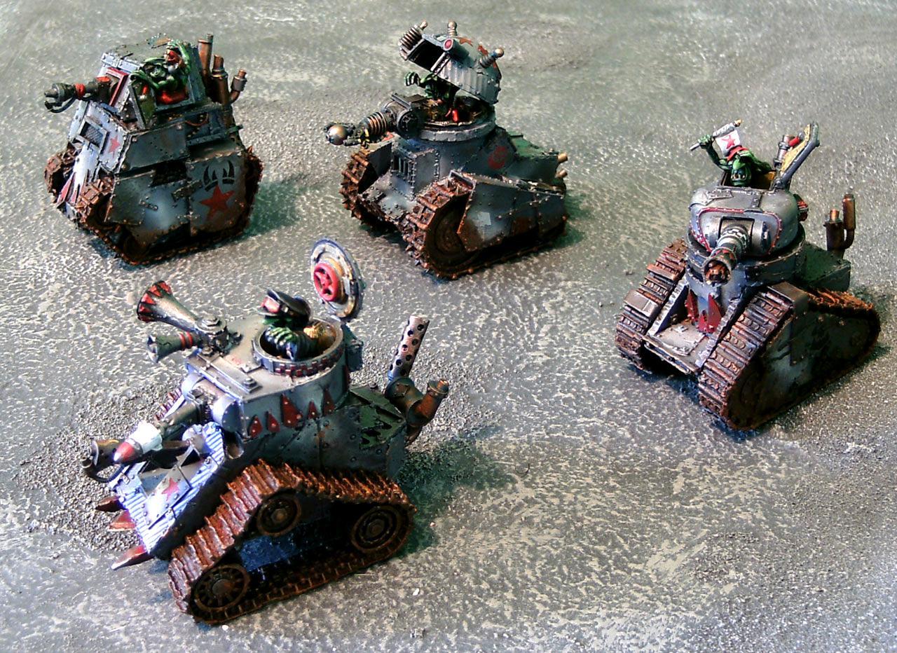 Forge World, Gretchin, Grot Tanks, Grots, Grotzooka, Imperial Armor, Imperial Armour, Kustom Mega Blasta, Orks, Rebel Grots, Warhammer 40,000