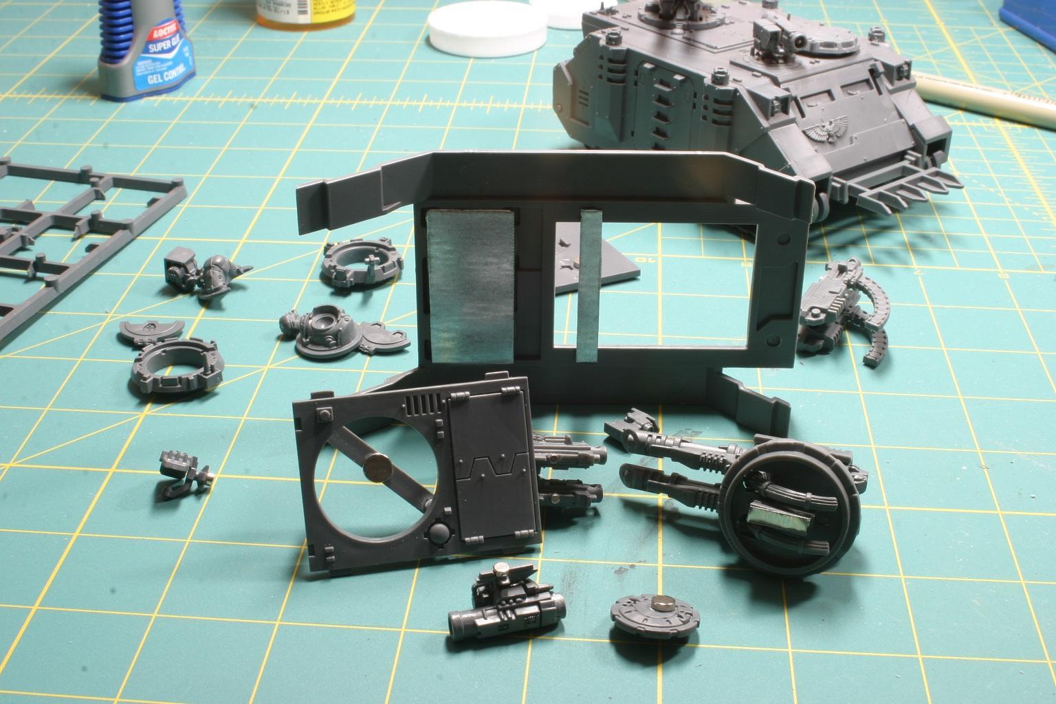 Magnet, Razorback, Rhino, Work In Progress