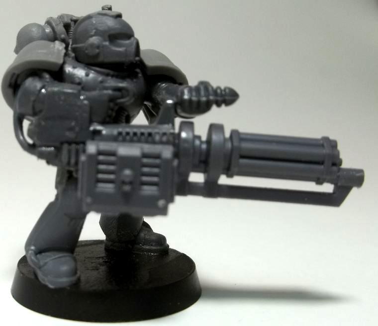 Conversion, Devastator, Minotaur, Space Marines