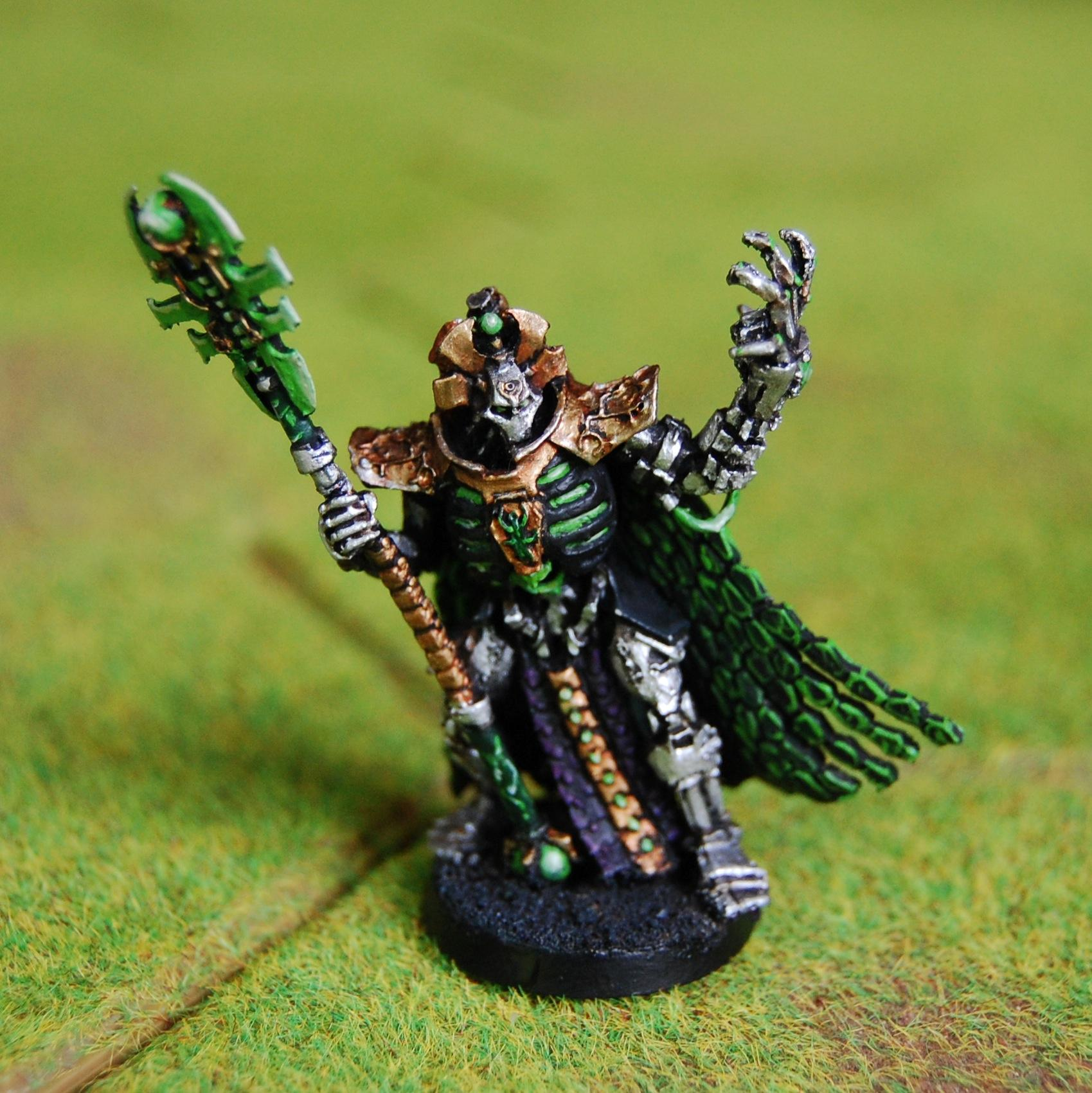 Imotekh, Lead Legion Painting Service, Necrons, Stormlord